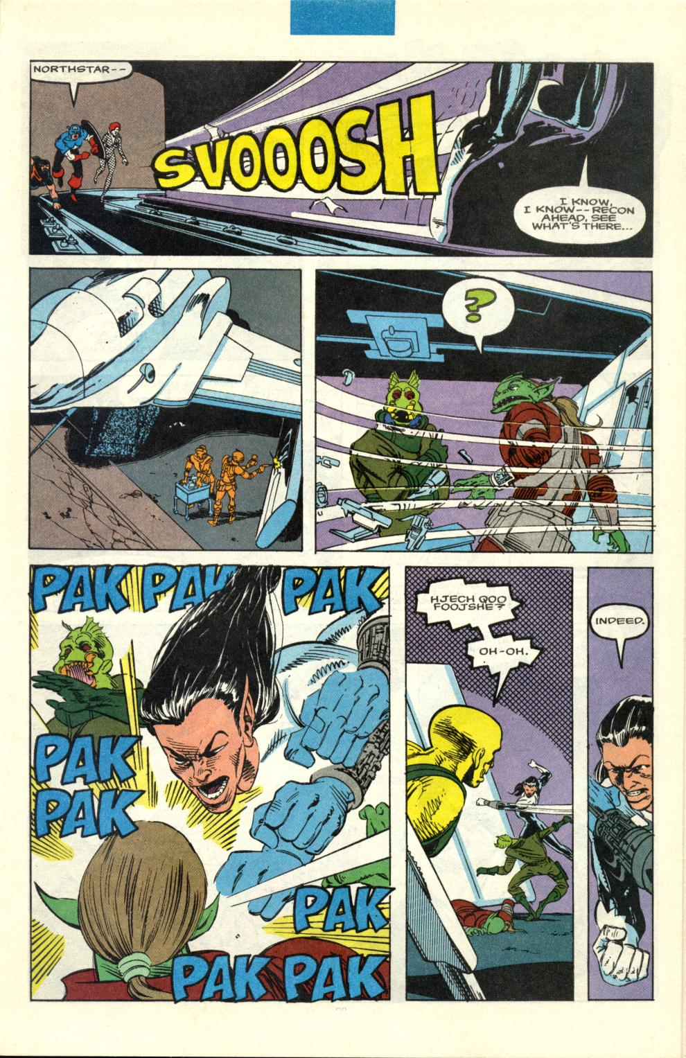 Read online Alpha Flight (1983) comic -  Issue #100 - 16