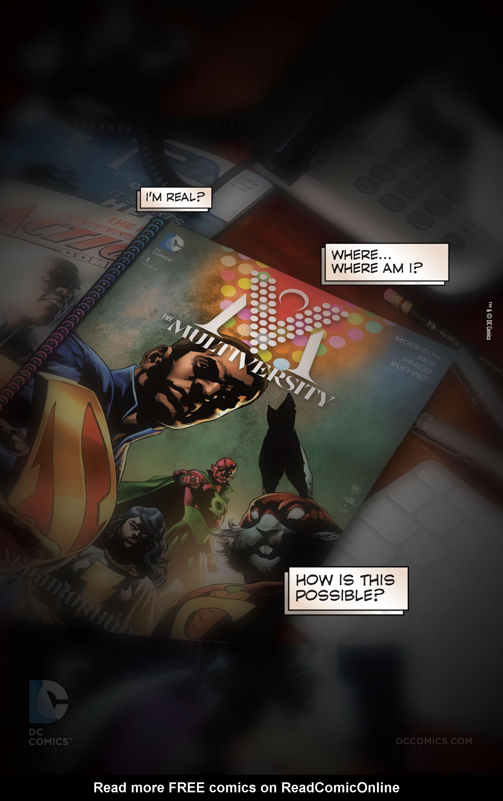 Read online Trinity of Sin: The Phantom Stranger comic -  Issue #22 - 22
