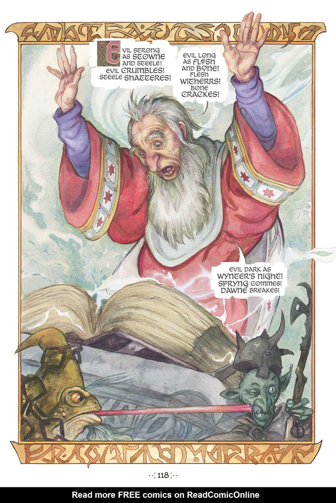 Read online The Wizard's Tale comic -  Issue # TPB - 112