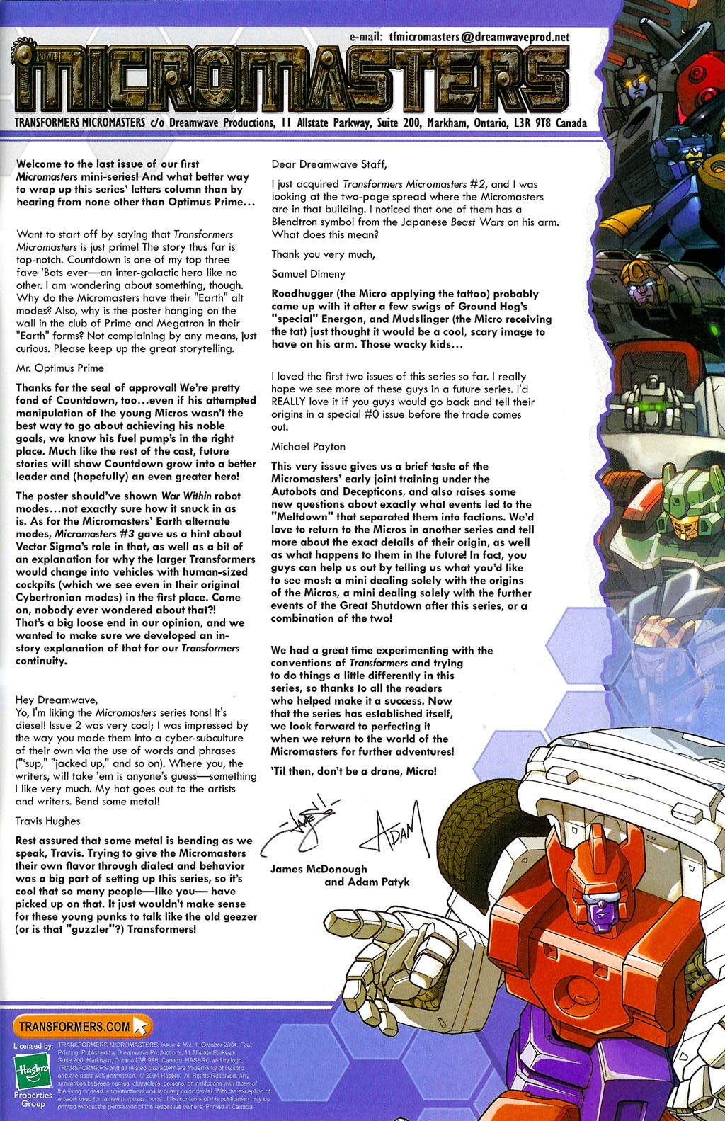 Read online Transformers: Micromasters comic -  Issue #4 - 25