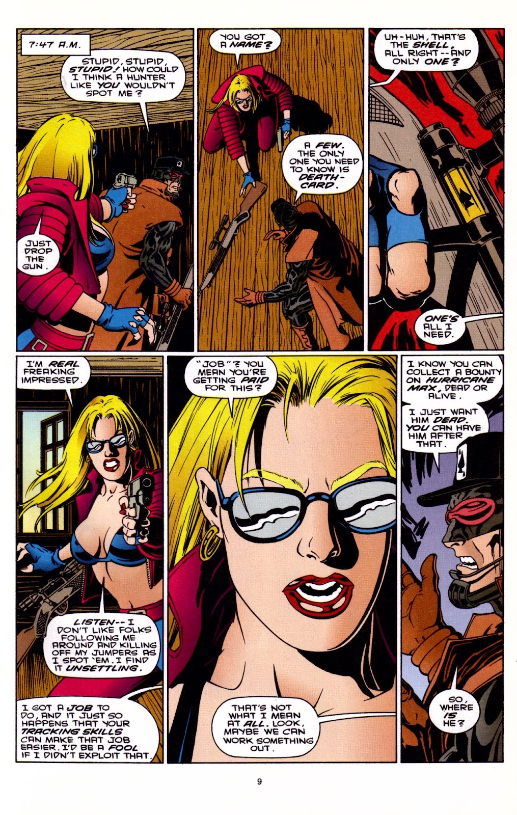 Barb Wire (1994) issue 3 - Page 10
