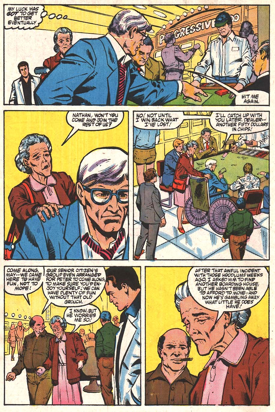 Web of Spider-Man (1985) Issue #24 #34 - English 3
