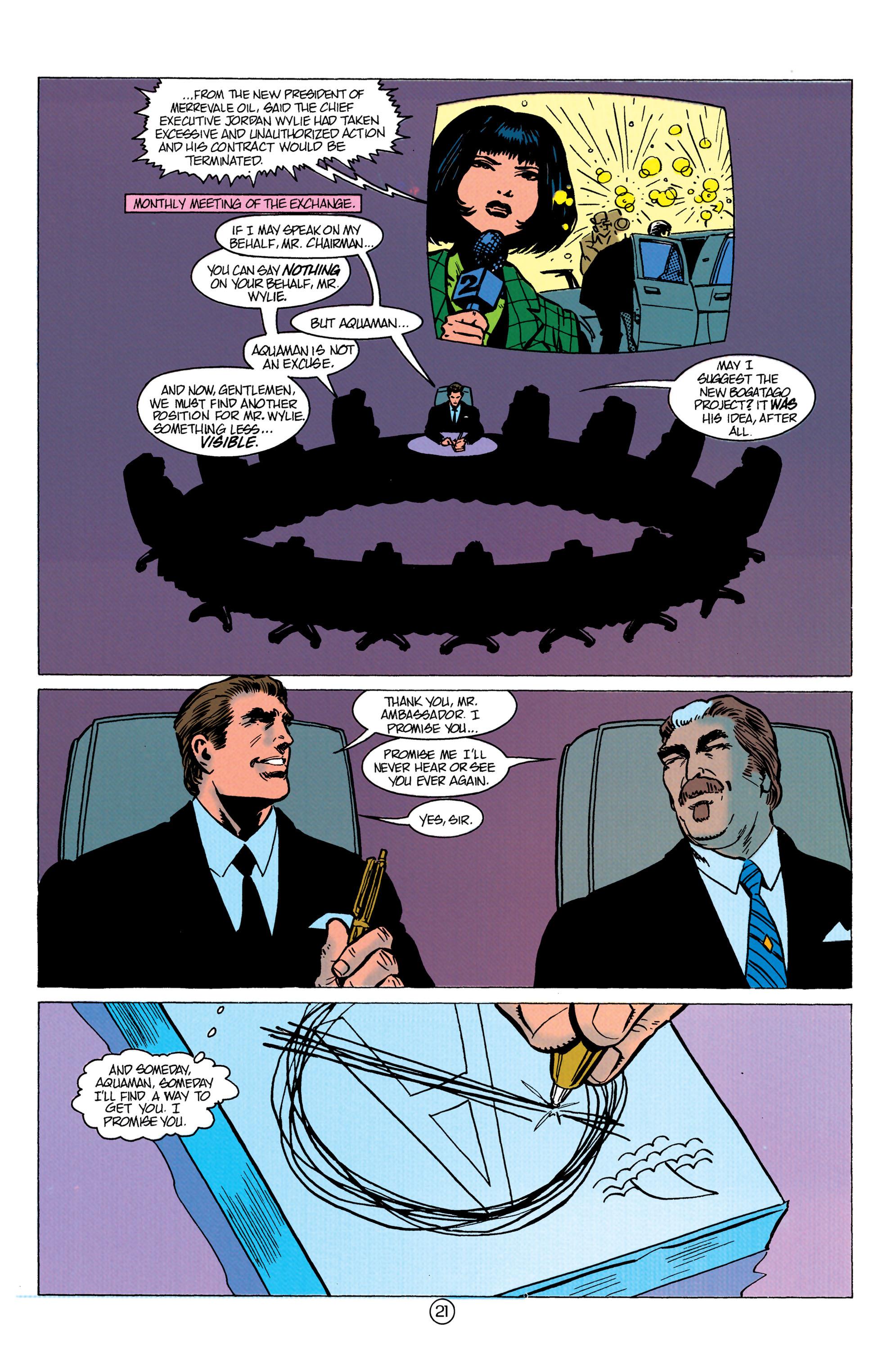 Read online Aquaman (1991) comic -  Issue #10 - 22