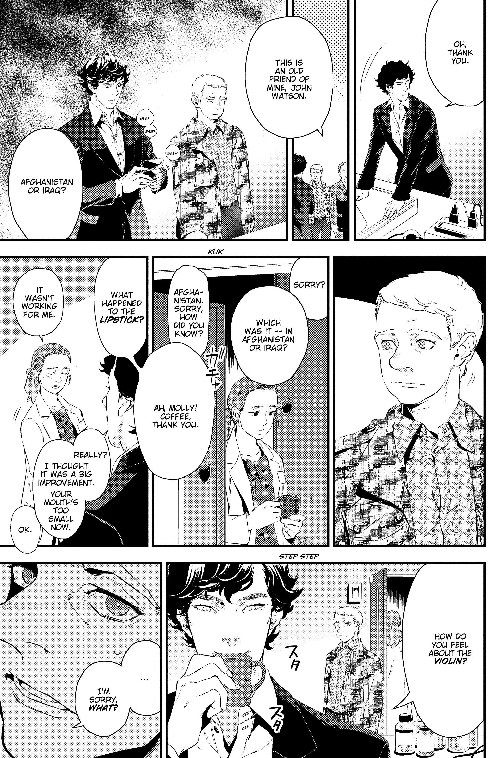 Read online Sherlock: A Study In Pink comic -  Issue #1 - 29