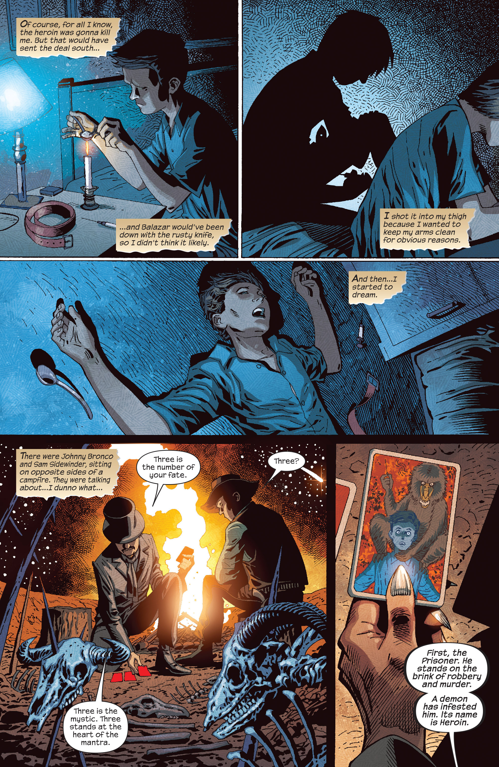 Read online Dark Tower: The Drawing of the Three - The Prisoner comic -  Issue #4 - 17