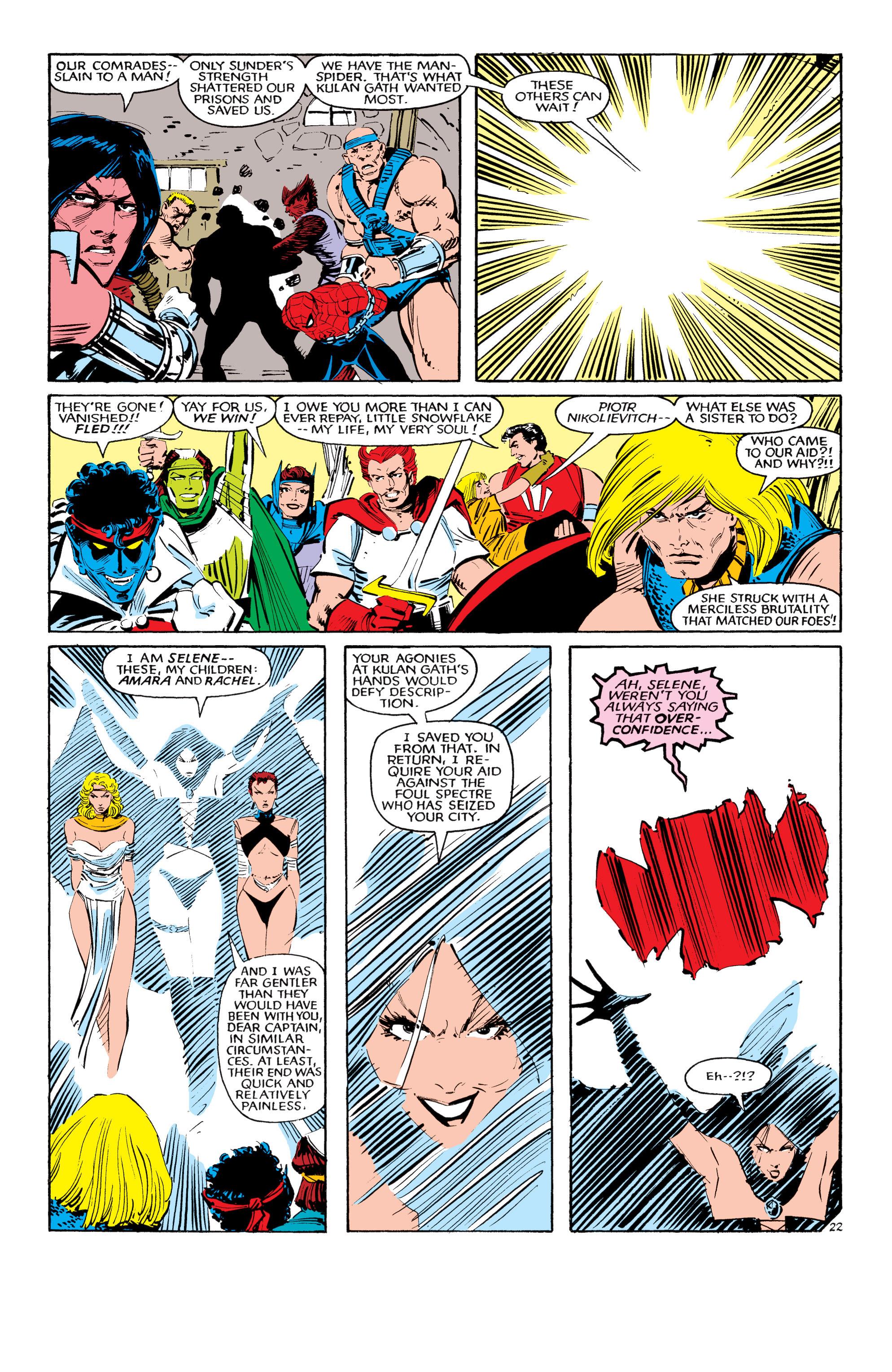 Read online Uncanny X-Men (1963) comic -  Issue #190 - 22