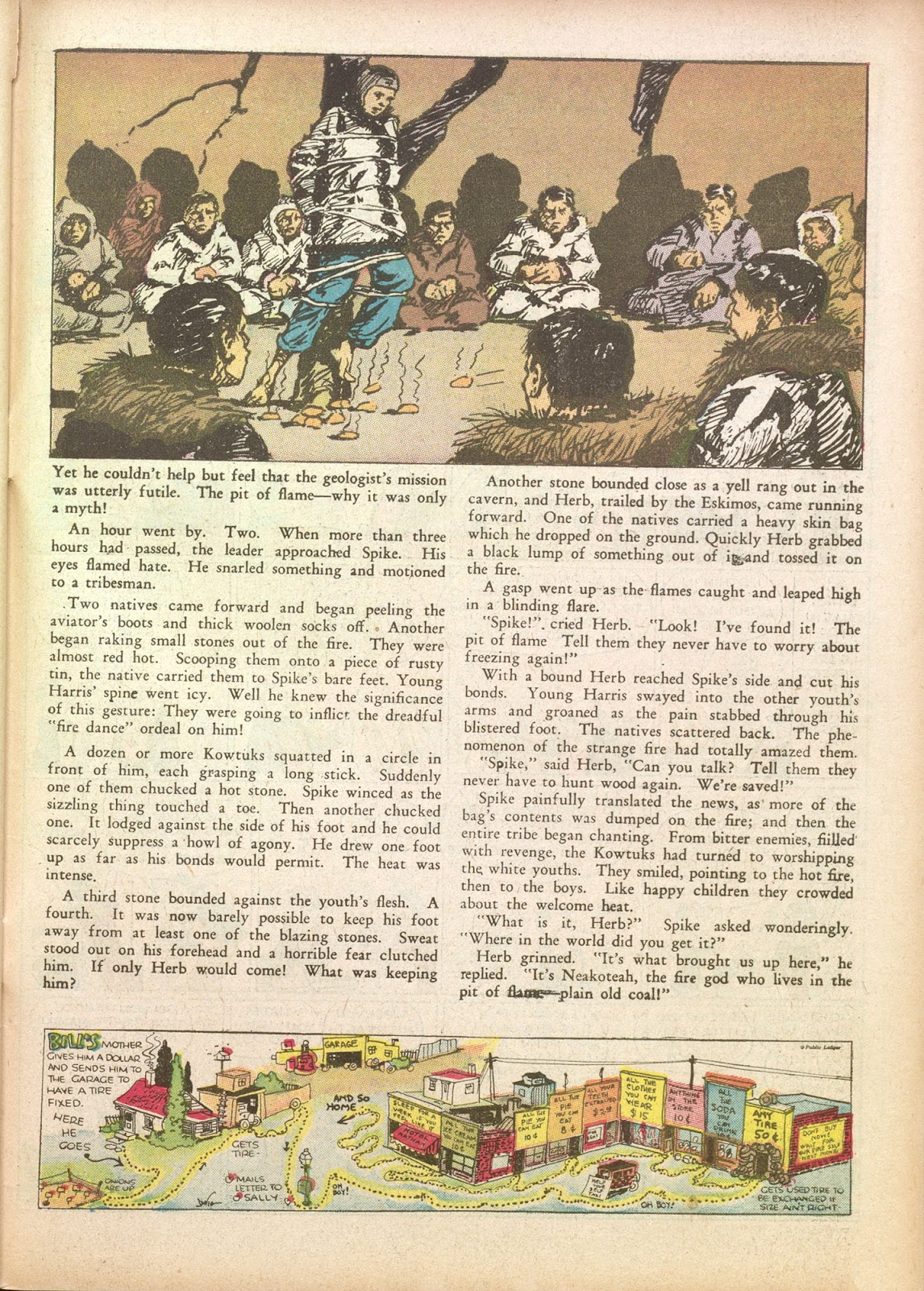 Read online Famous Funnies comic -  Issue #35 - 57