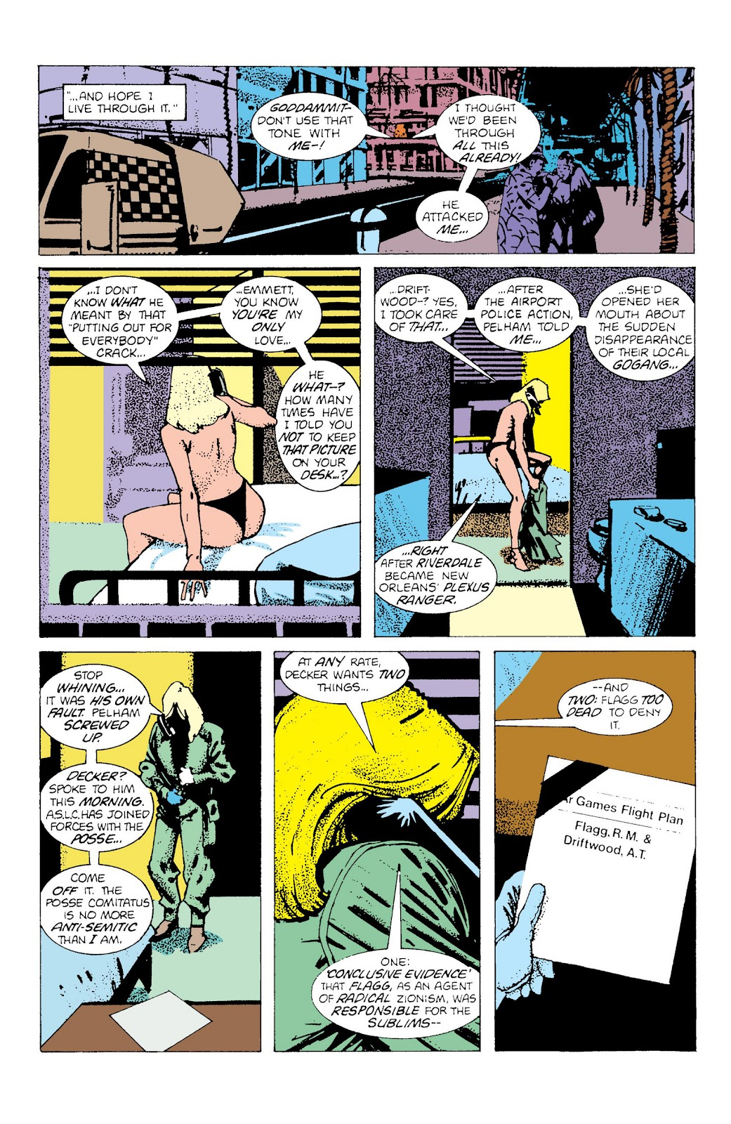 American Flagg! issue Definitive Collection (Part 2) - Page 90