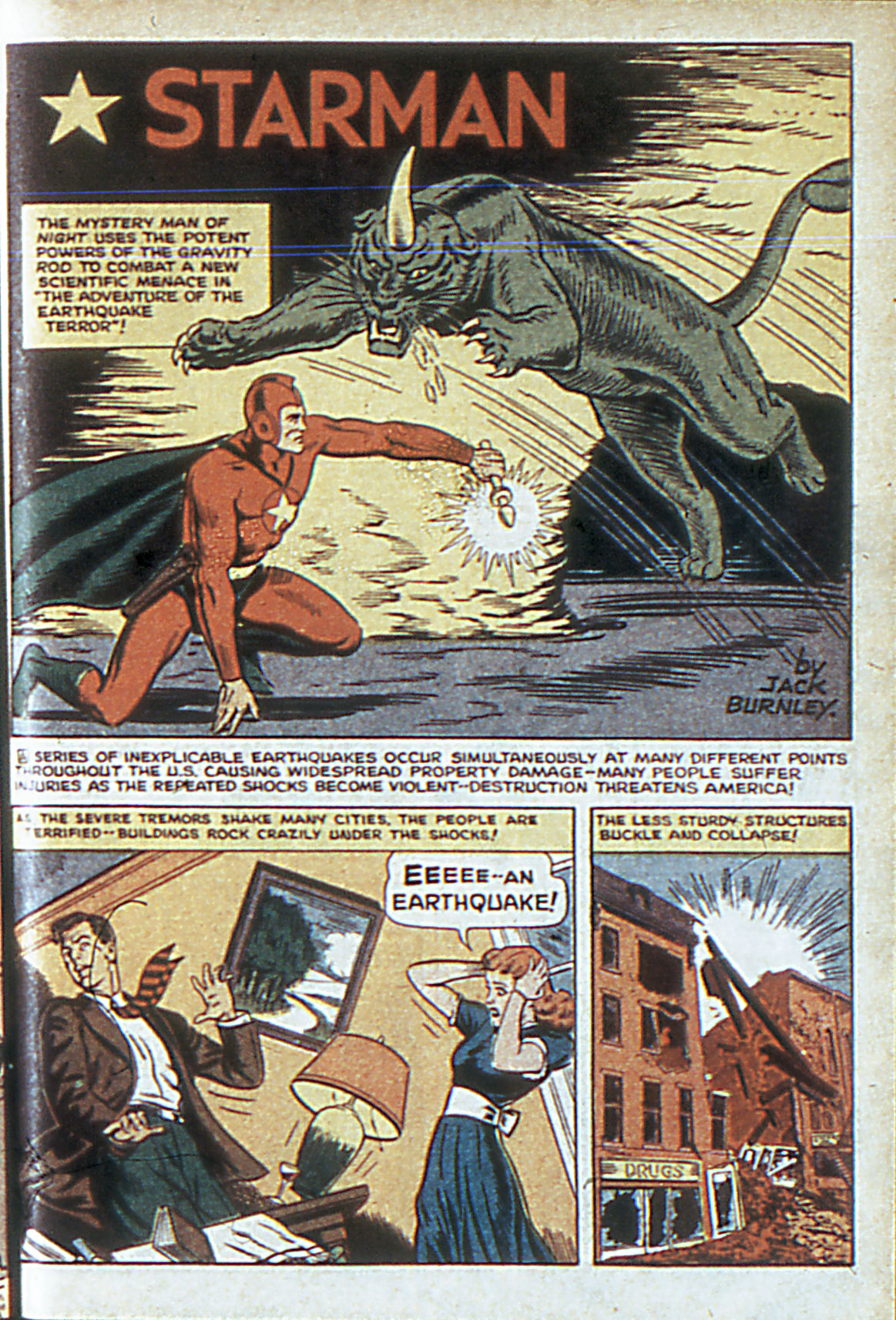 Read online Adventure Comics (1938) comic -  Issue #63 - 4
