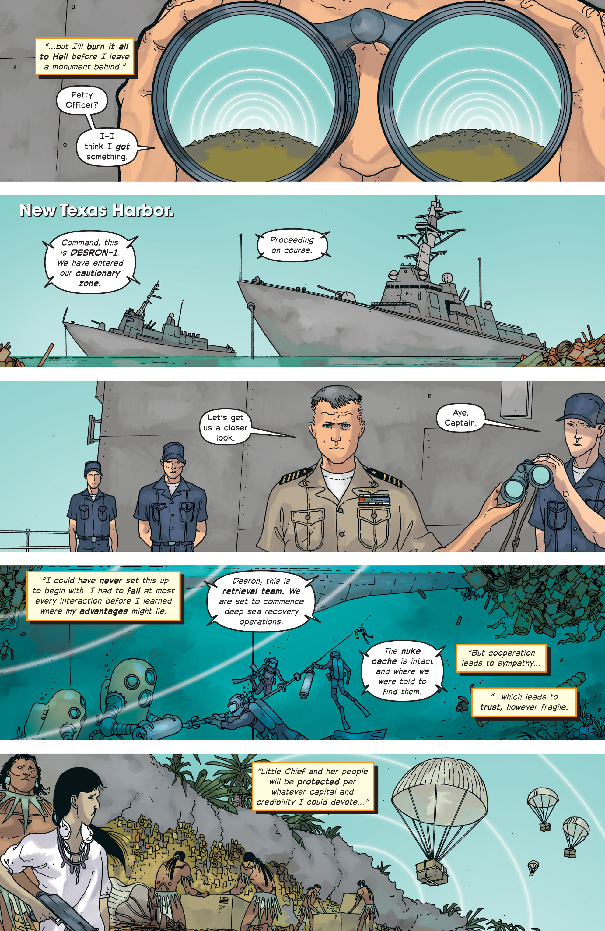 Read online Great Pacific comic -  Issue #18 - 21
