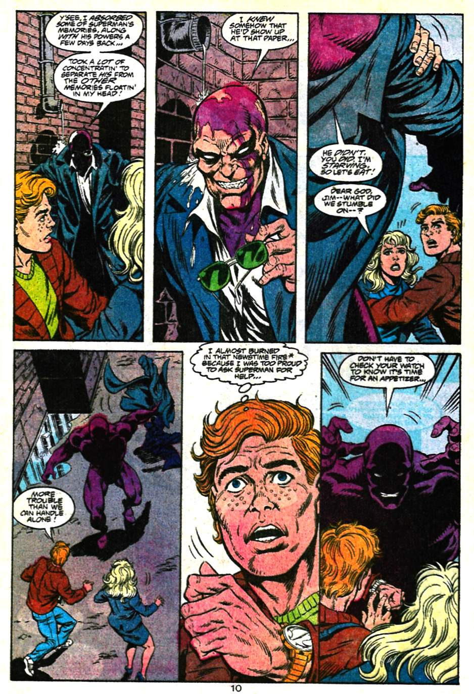 Read online Adventures of Superman (1987) comic -  Issue #482 - 11