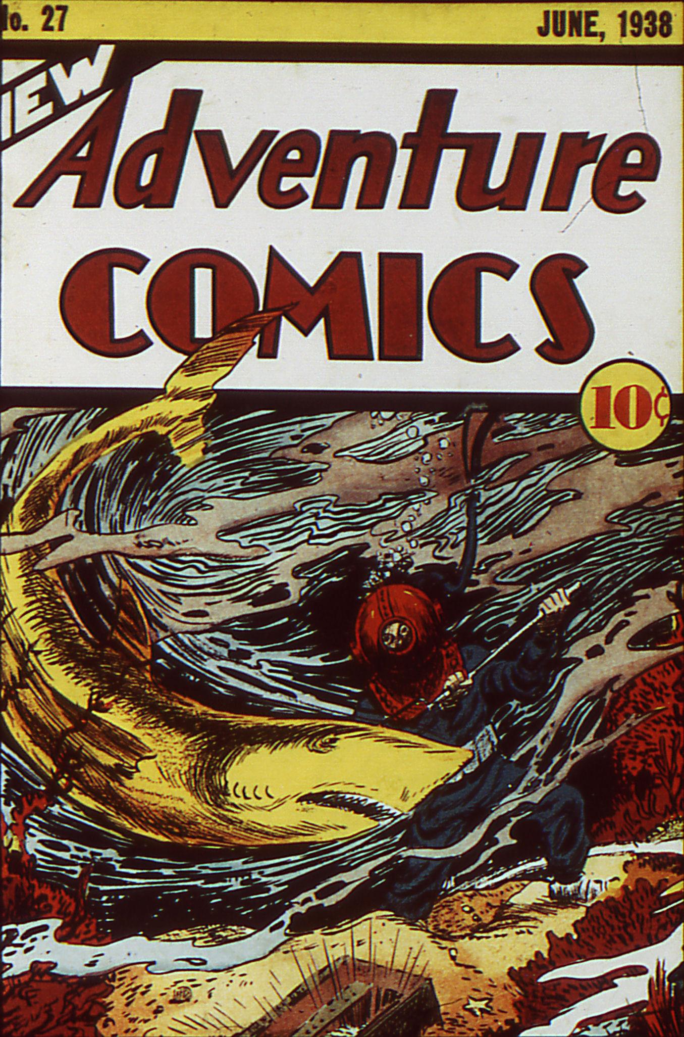 Read online Adventure Comics (1938) comic -  Issue #27 - 1