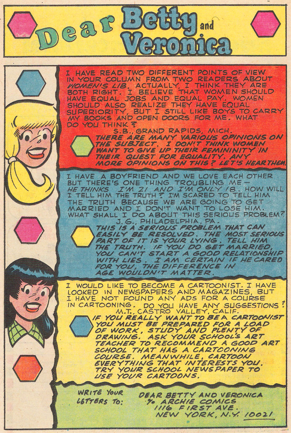 Read online Archie's Girls Betty and Veronica comic -  Issue #237 - 25