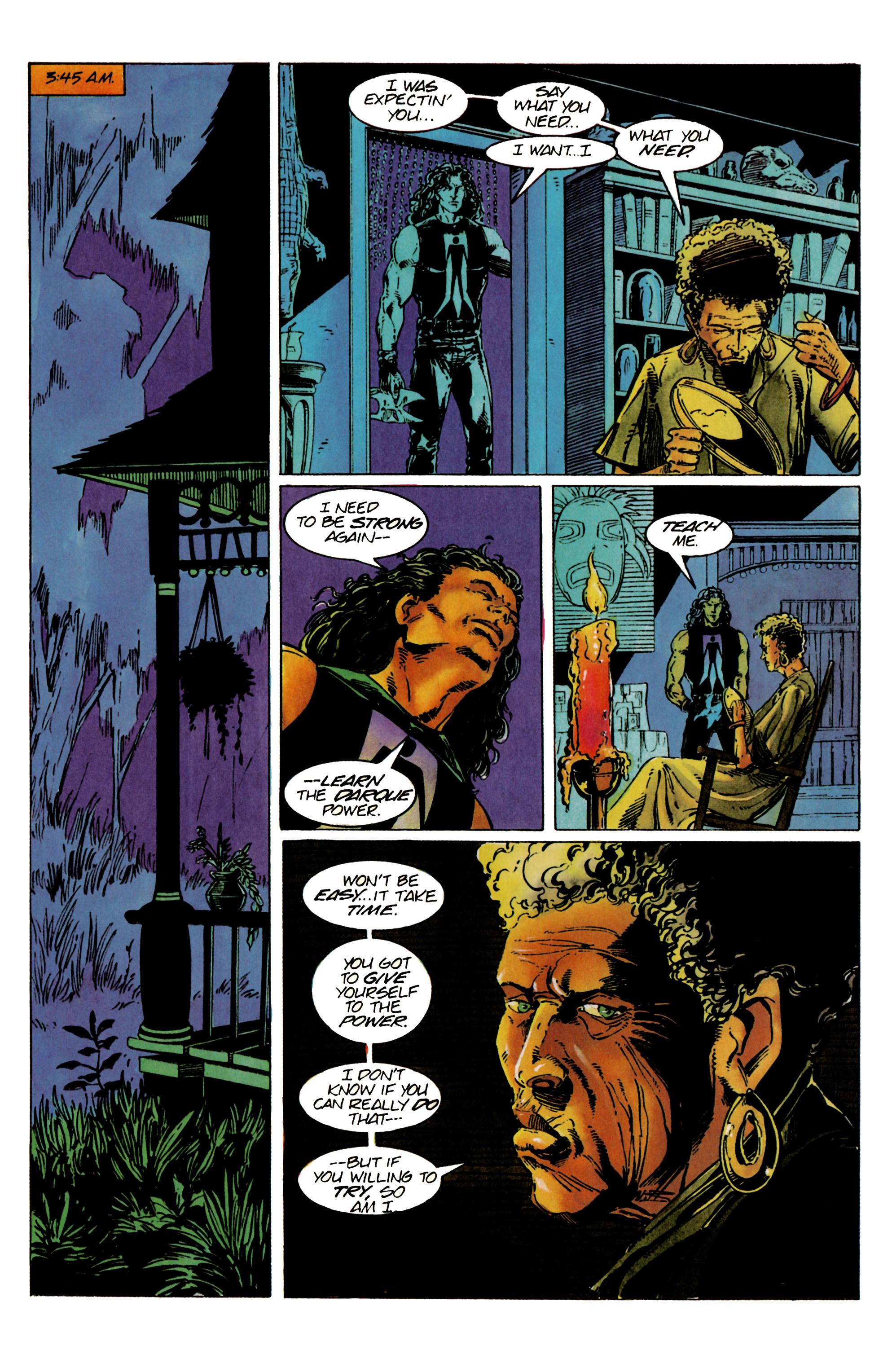 Read online Shadowman (1992) comic -  Issue #24 - 21