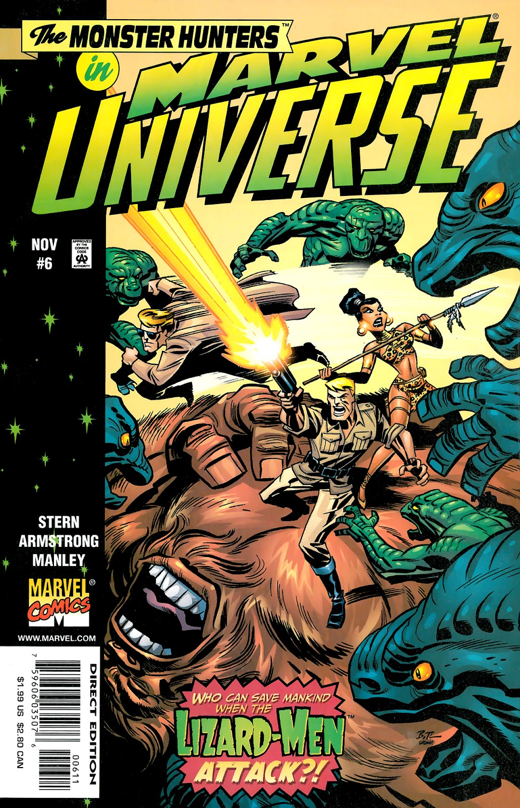 Marvel Universe issue 6 - Page 1