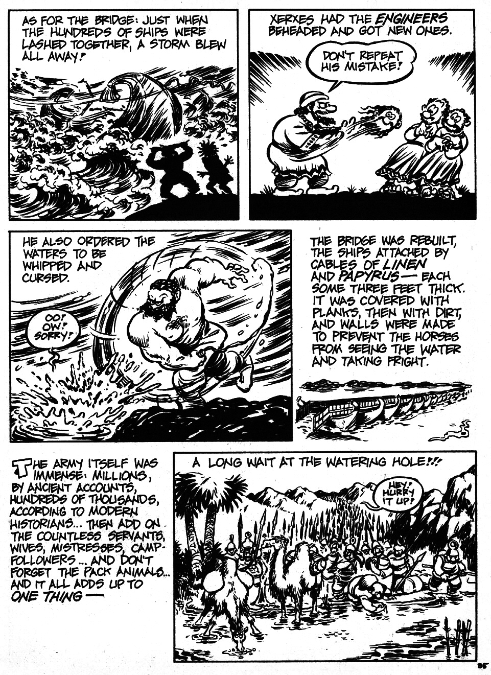 Read online The Cartoon History of the Universe comic -  Issue #6 - 37