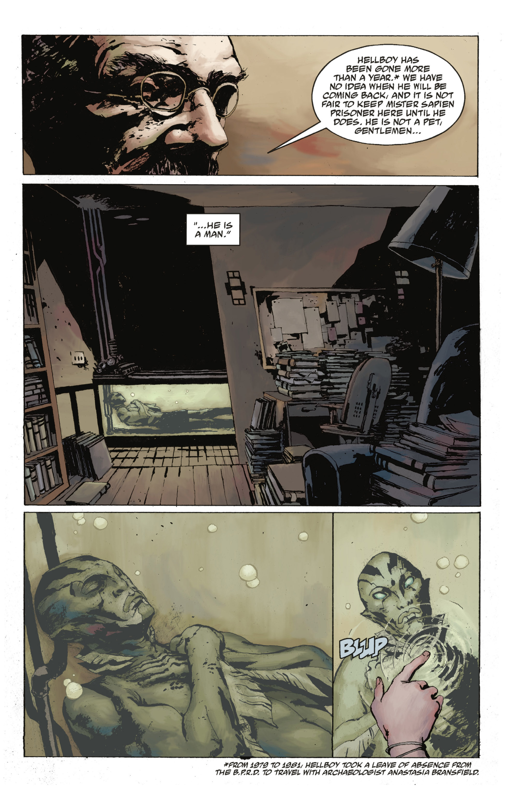 Read online Abe Sapien: The Drowning comic -  Issue #Abe Sapien: The Drowning _TPB - 20
