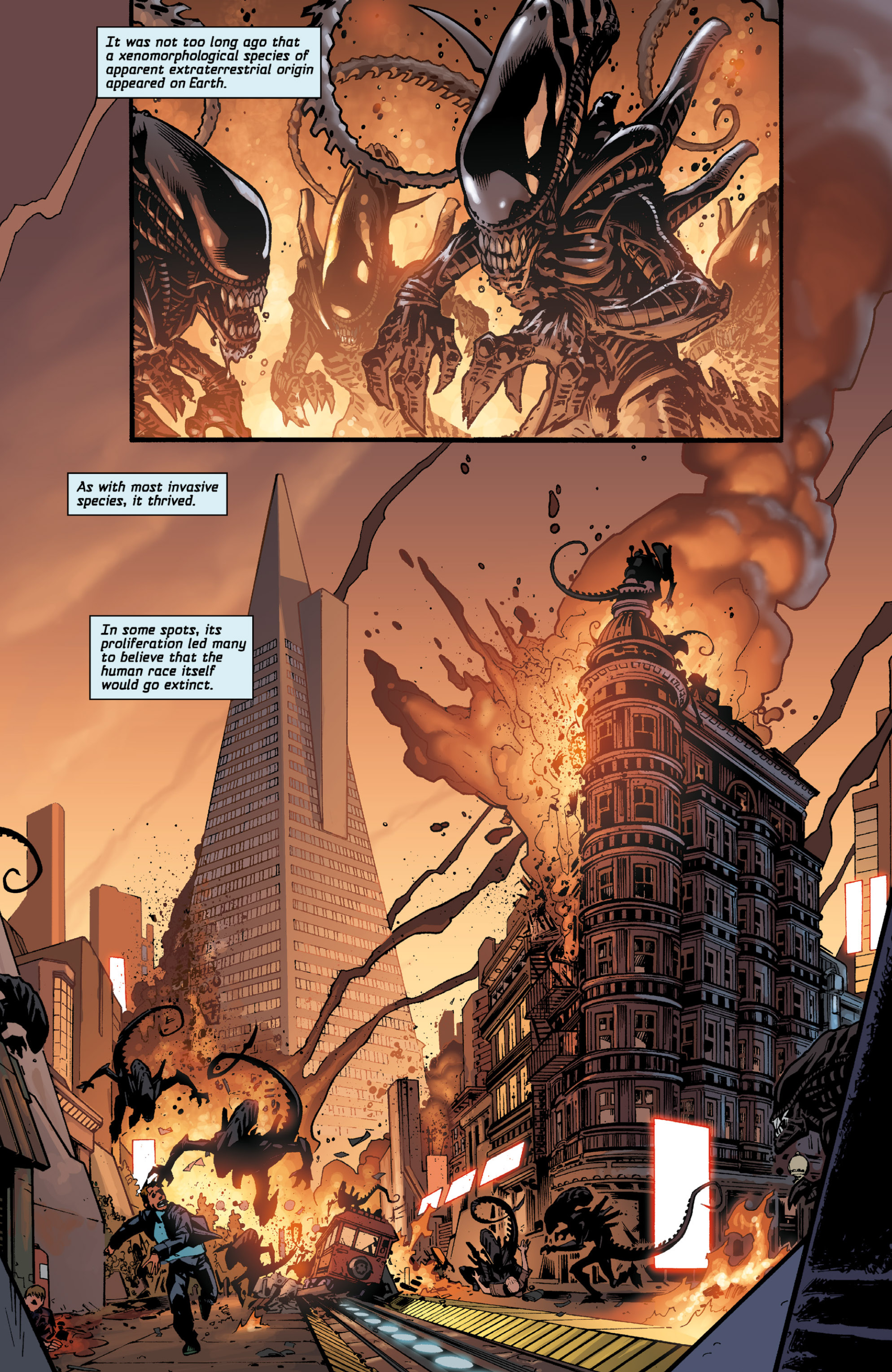 Read online Aliens (2009) comic -  Issue # TPB - 7