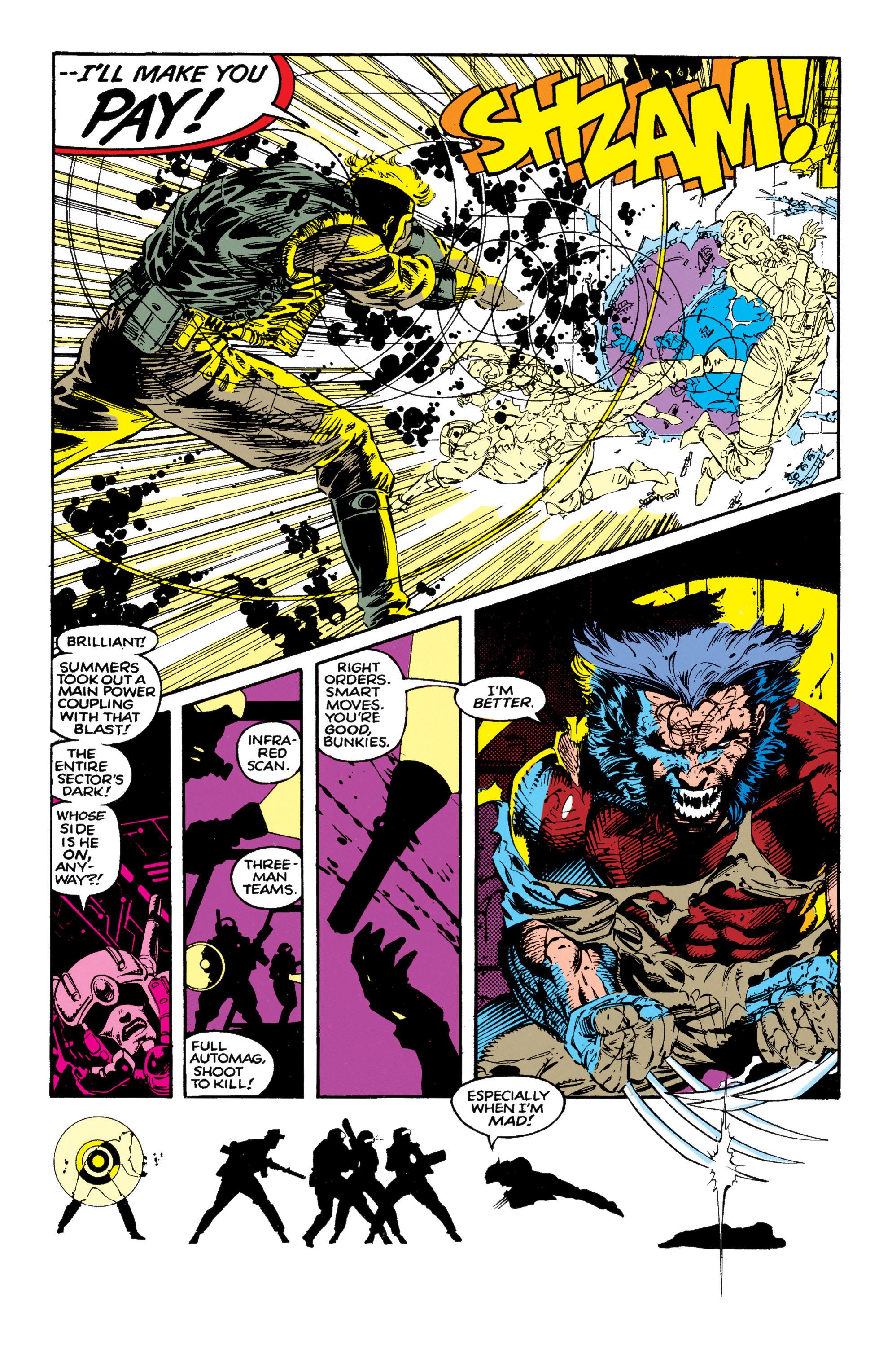 Read online Uncanny X-Men (1963) comic -  Issue #271 - 18