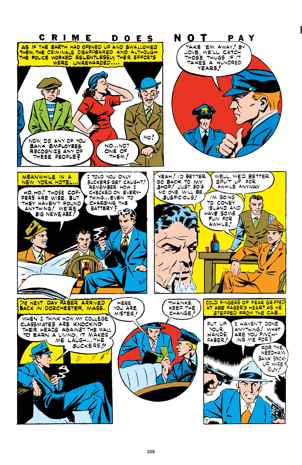Read online Crime Does Not Pay Archives comic -  Issue # TPB 1 (Part 3) - 11