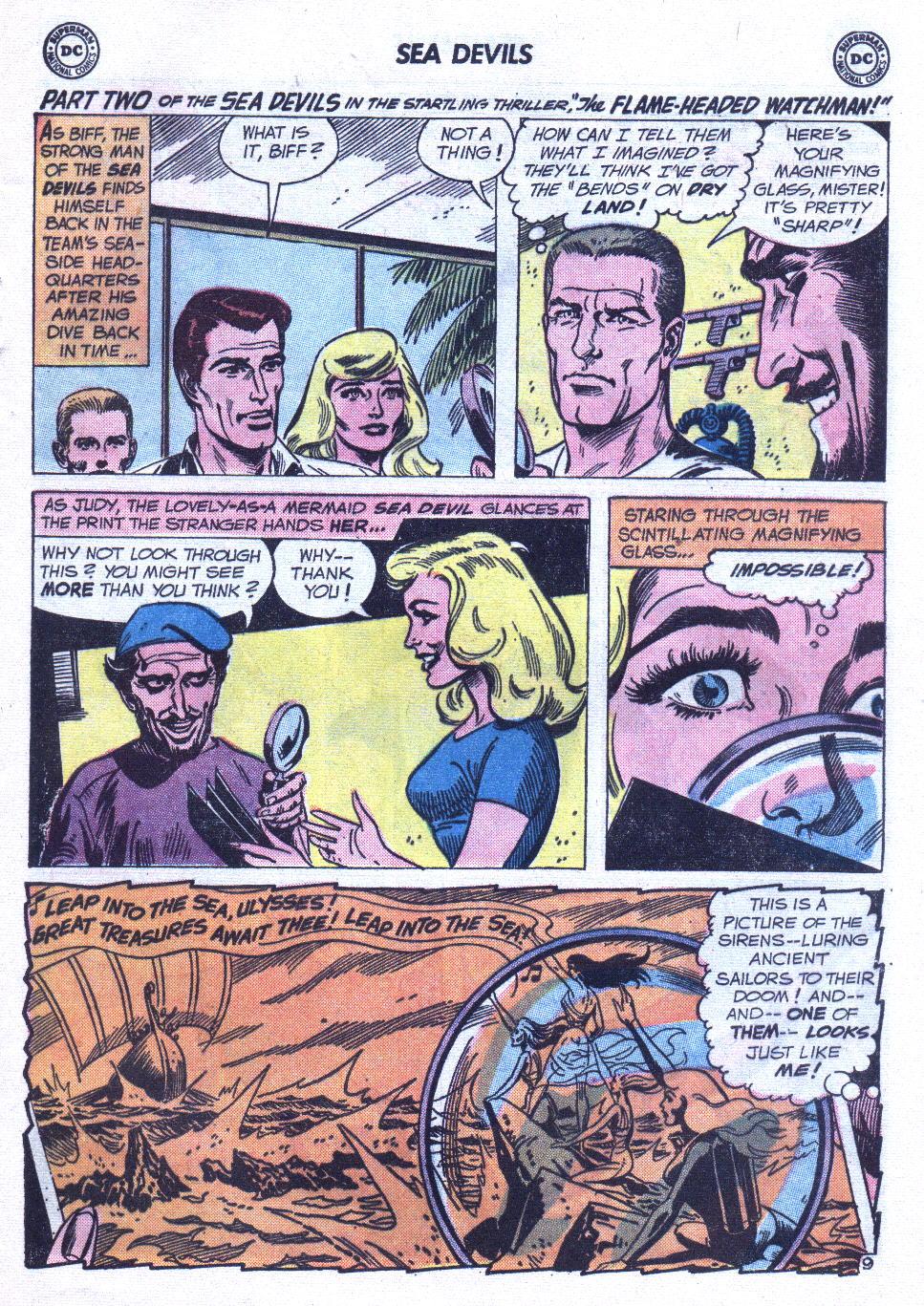 Read online Sea Devils comic -  Issue #6 - 14