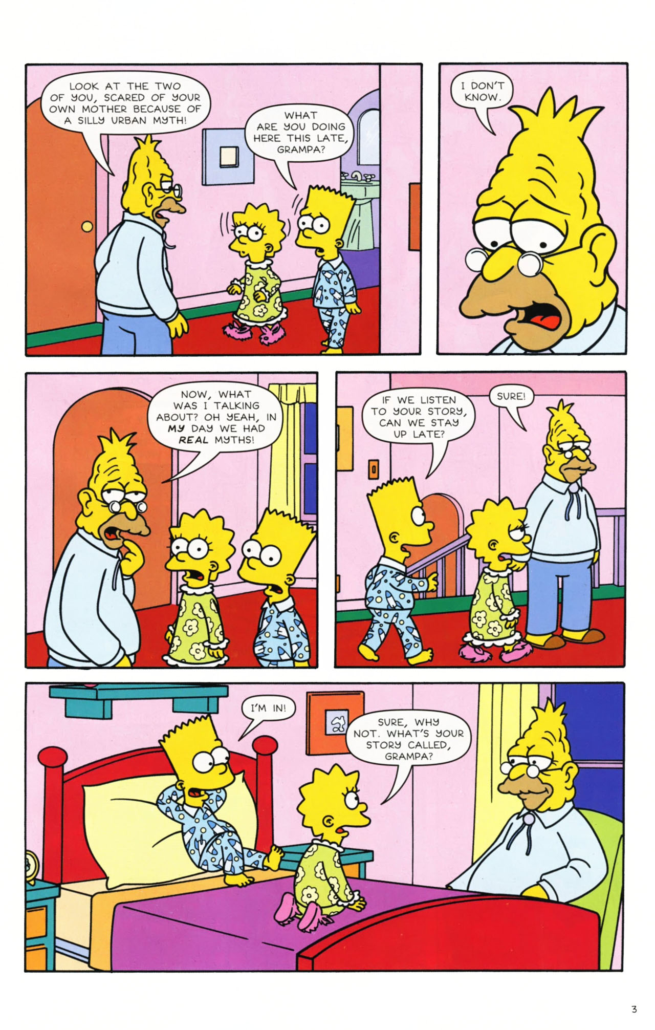 Read online Simpsons Comics comic -  Issue #168 - 4