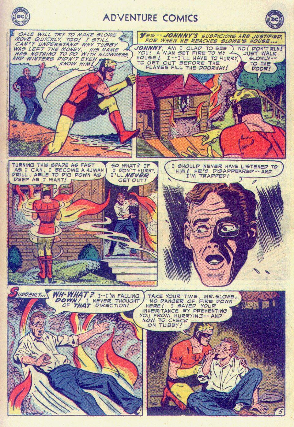 Read online Adventure Comics (1938) comic -  Issue #201 - 29