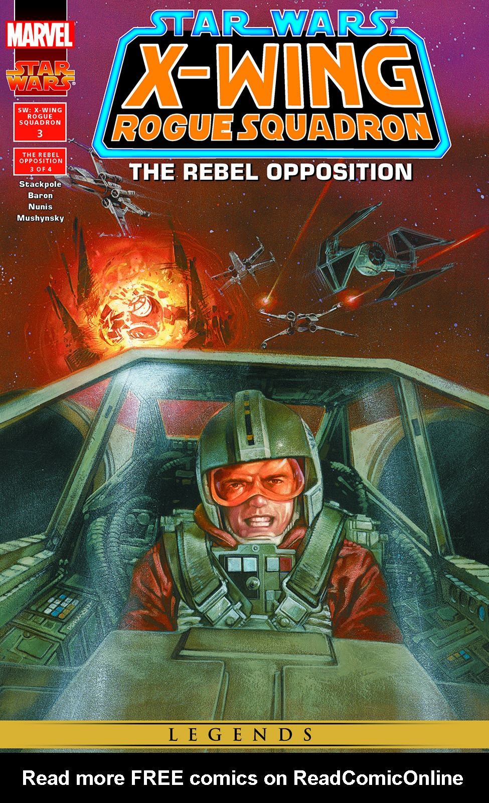 Star Wars: X-Wing Rogue Squadron issue 3 - Page 1