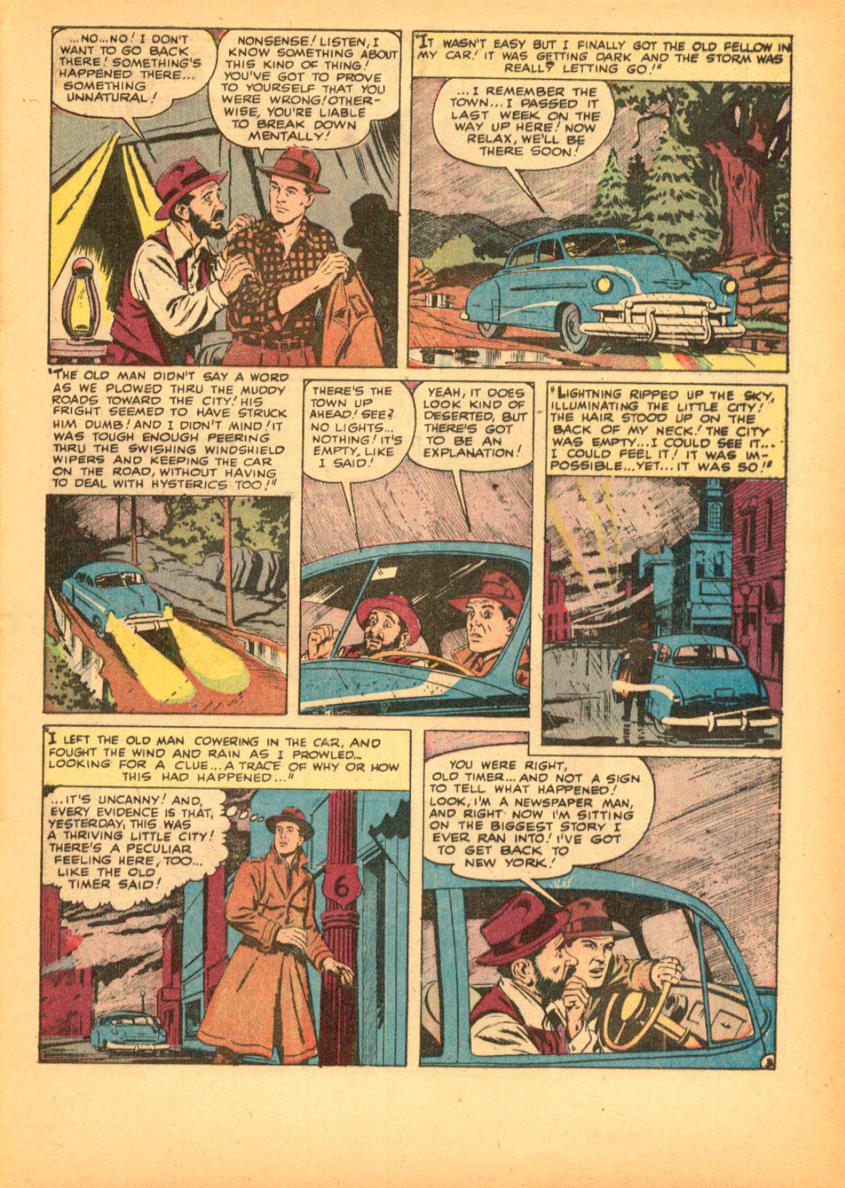 Read online Adventures into Weird Worlds comic -  Issue #3 - 29