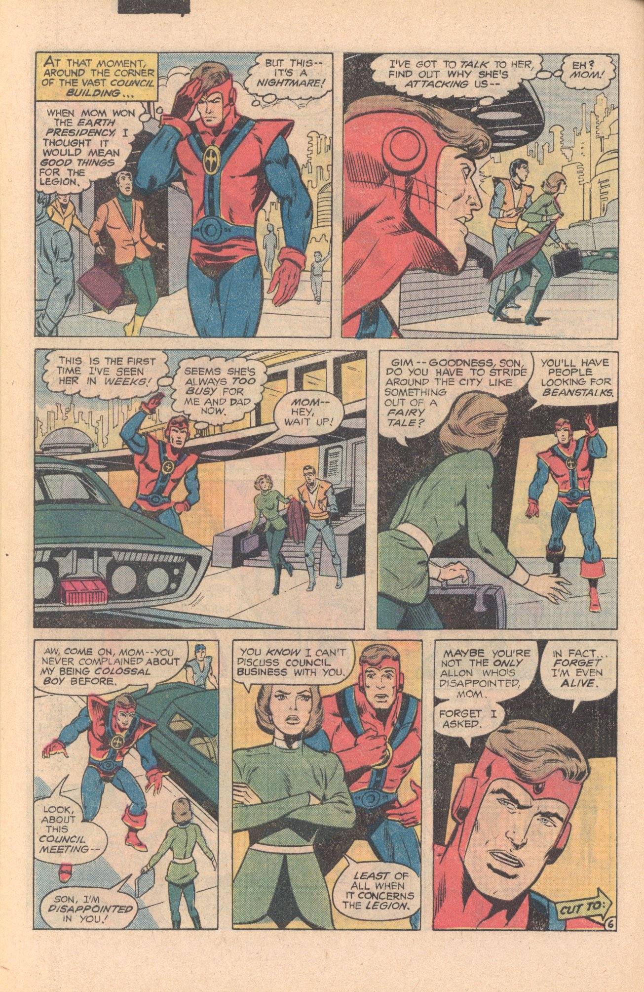 Legion of Super-Heroes (1980) 273 Page 6