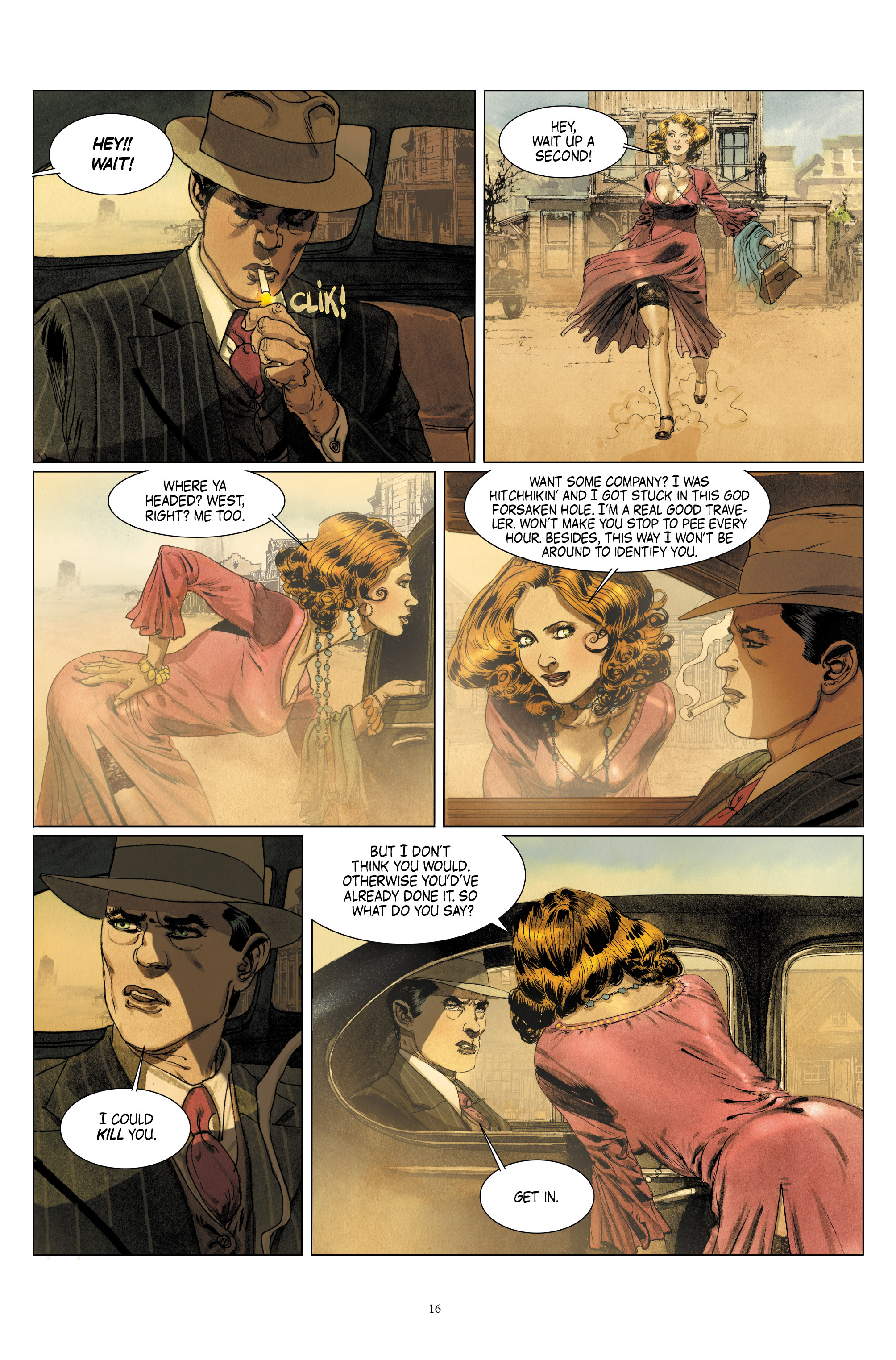 Read online Triggerman comic -  Issue #1 - 21