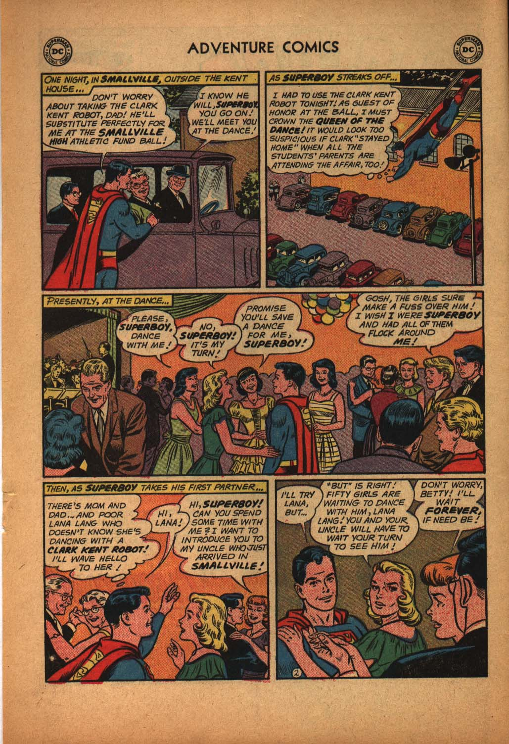 Read online Adventure Comics (1938) comic -  Issue #291 - 4