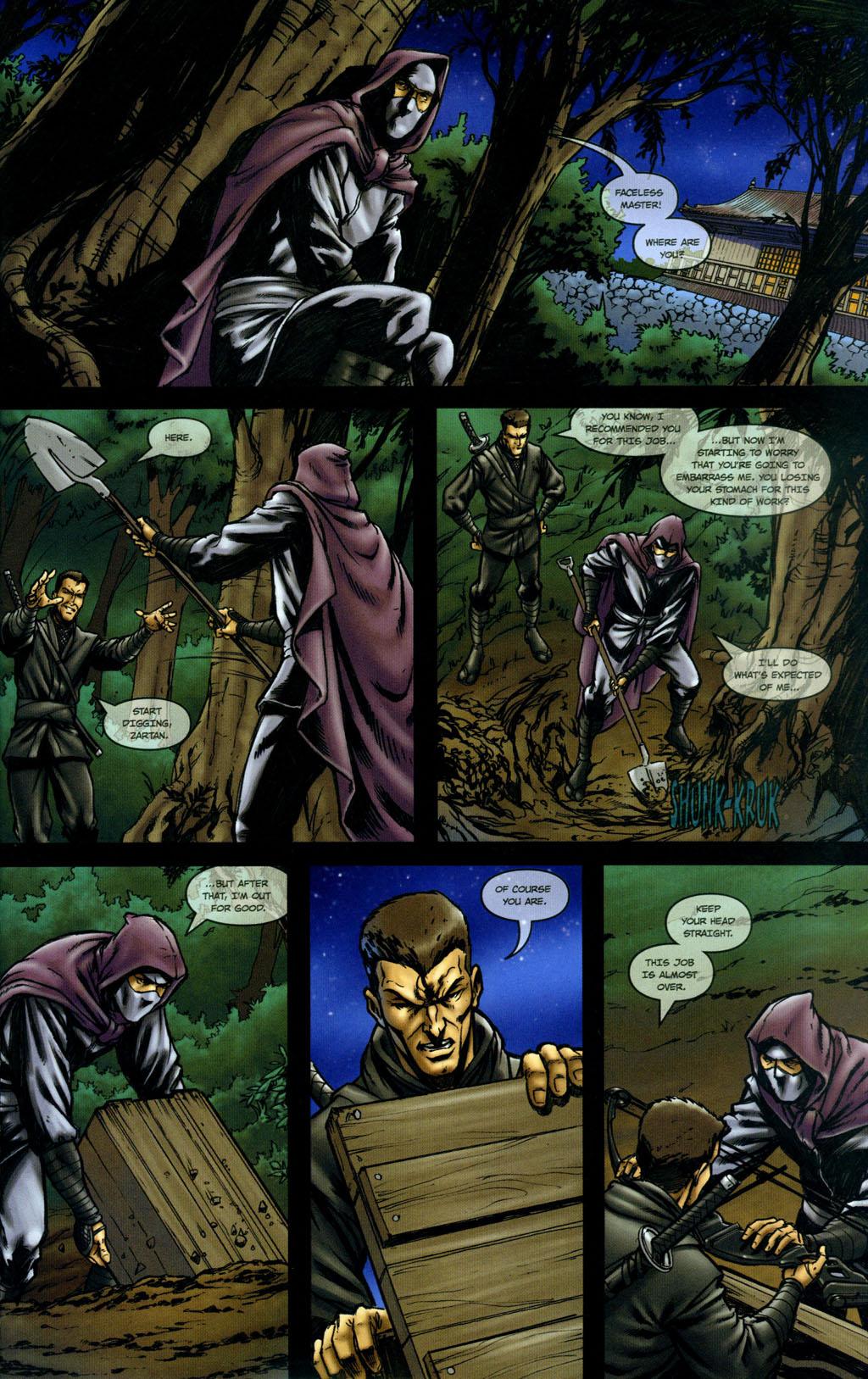 Read online Snake Eyes: Declassified comic -  Issue #5 - 5