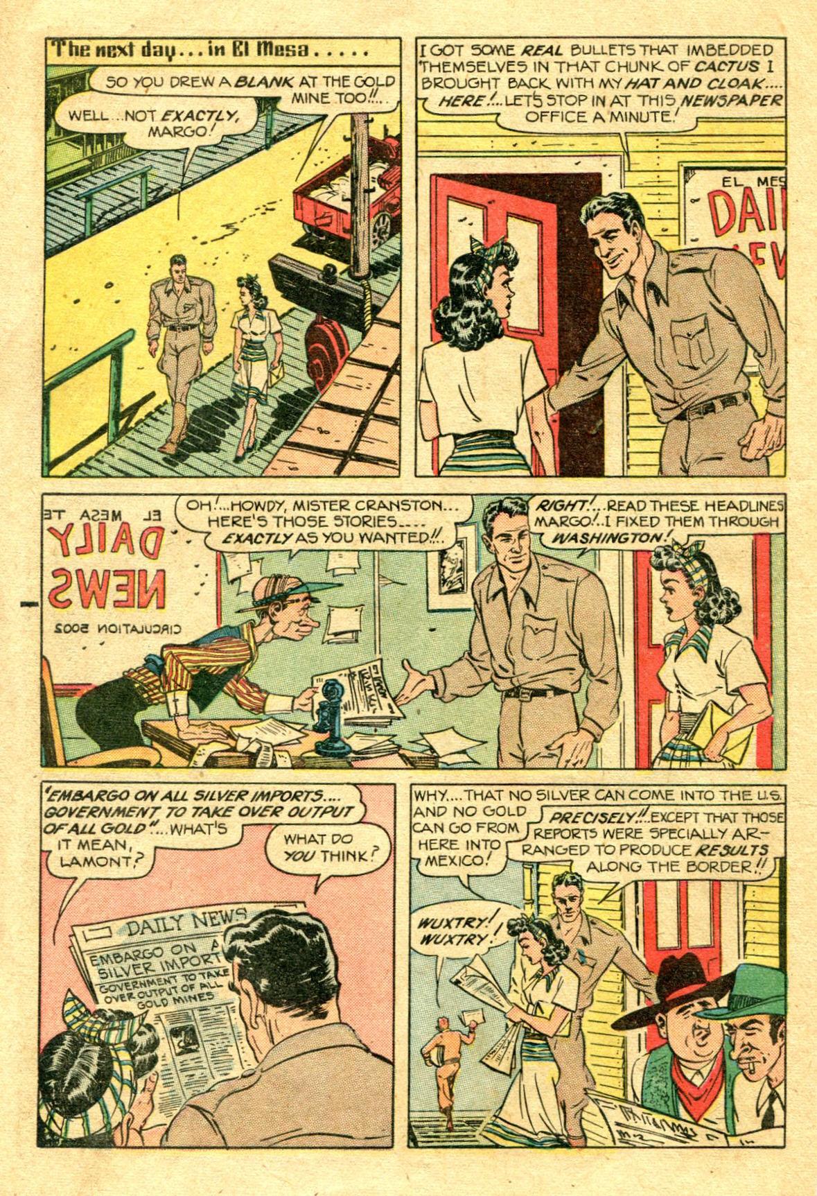 Read online Shadow Comics comic -  Issue #75 - 9