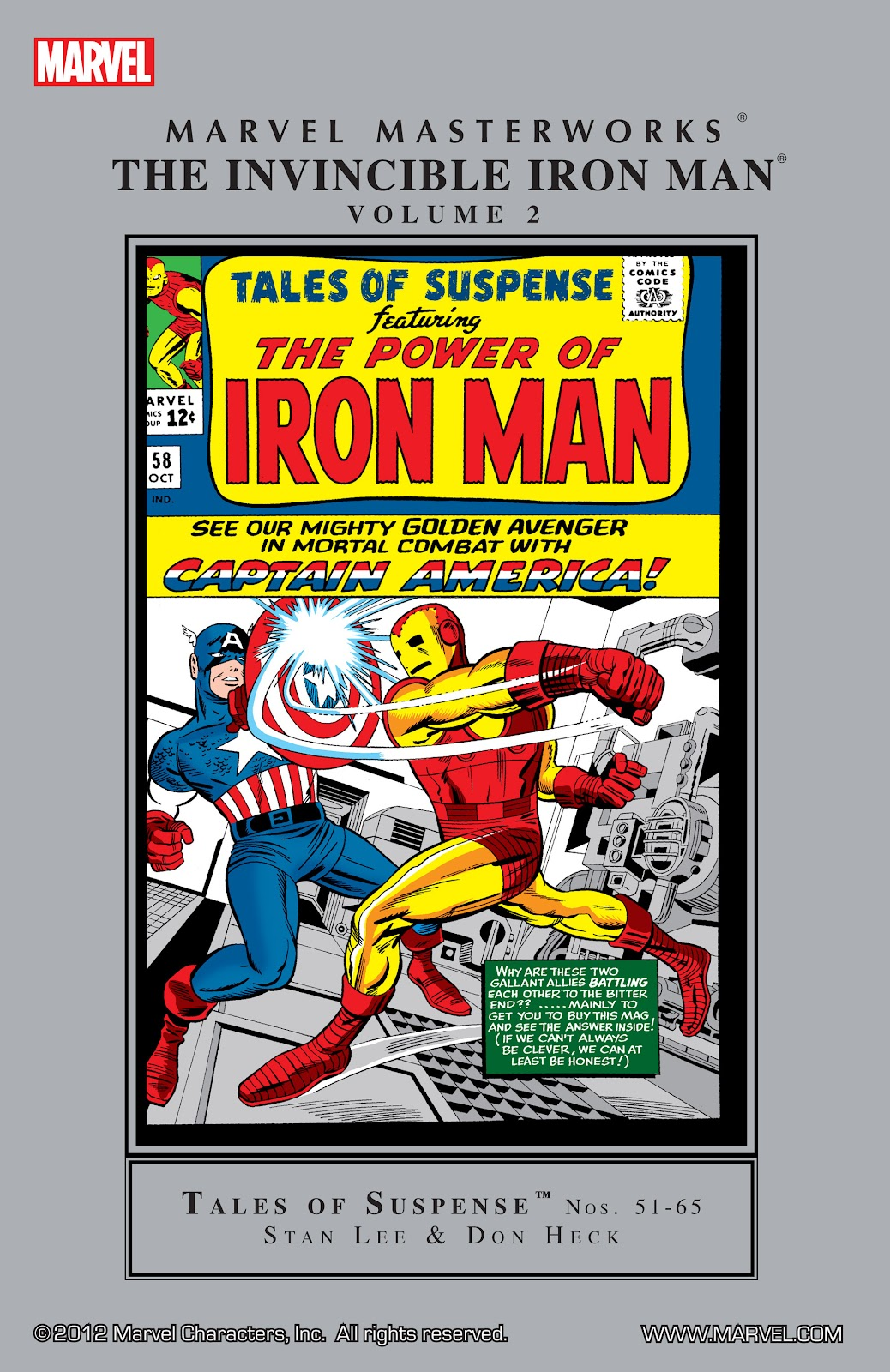 Read online Marvel Masterworks: The Invincible Iron Man comic -  Issue # TPB 2 (Part 3) - 41