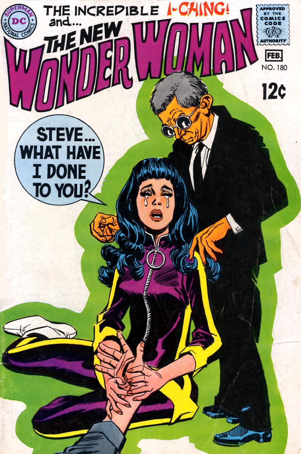 Read online Wonder Woman (1942) comic -  Issue #180 - 1