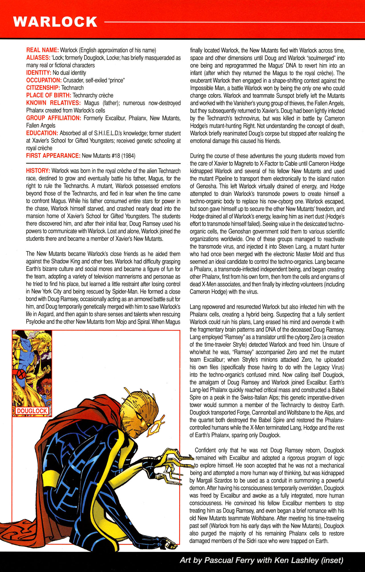 Read online All-New Official Handbook of the Marvel Universe A to Z comic -  Issue #12 - 26