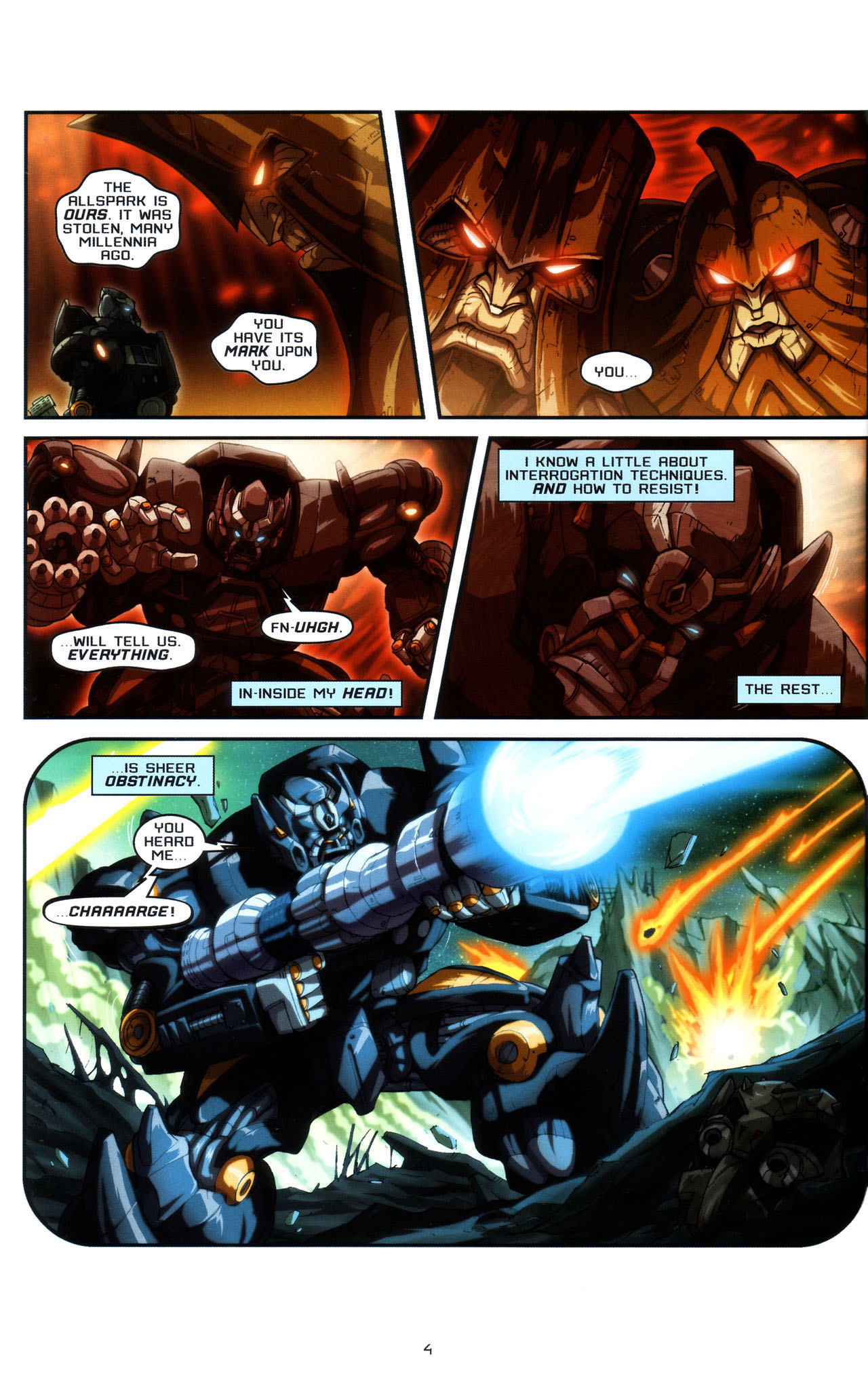 Read online Transformers: Saga of the Allspark comic -  Issue #3 - 7
