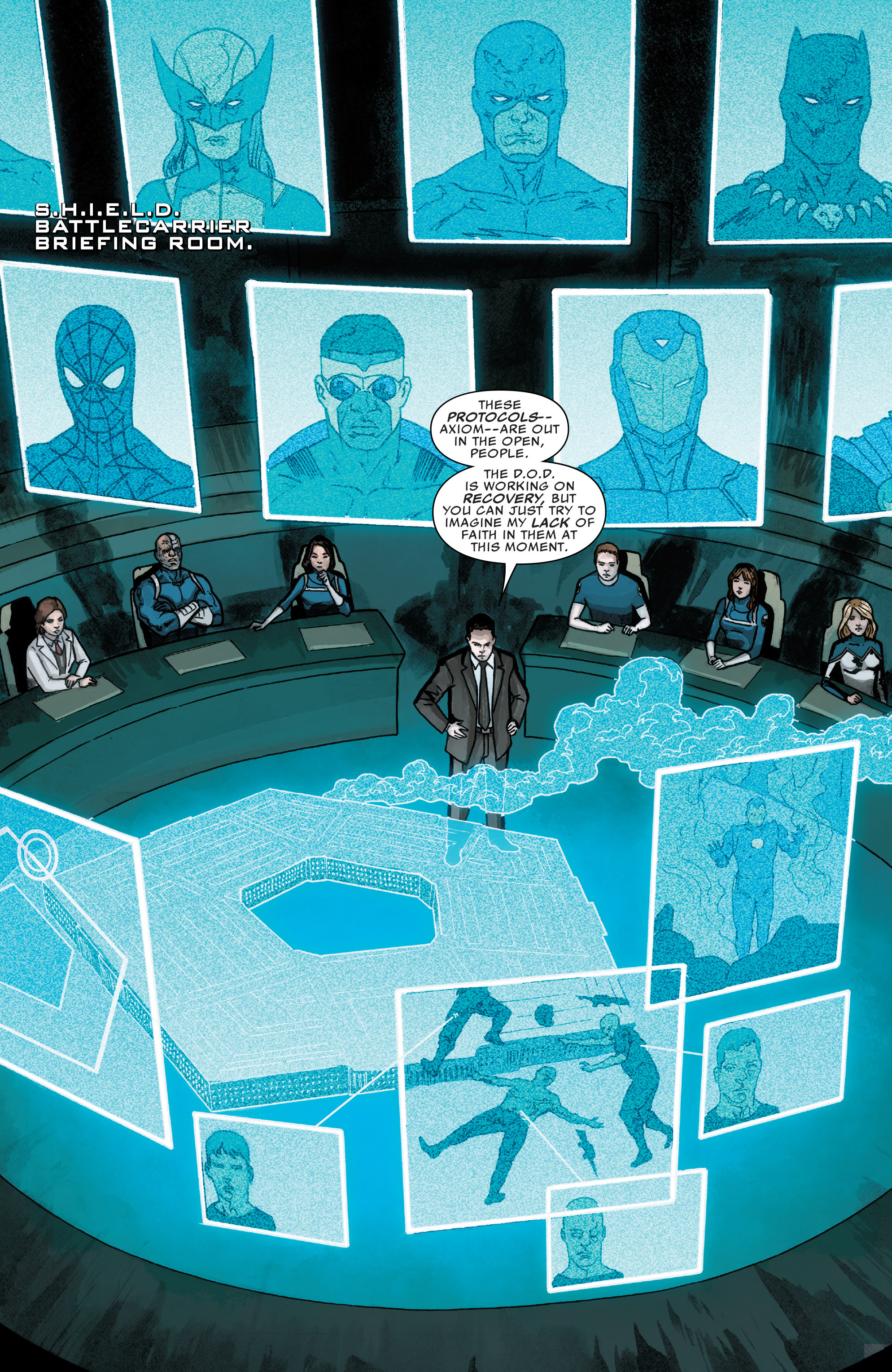 Read online Agents of S.H.I.E.L.D. comic -  Issue #2 - 4