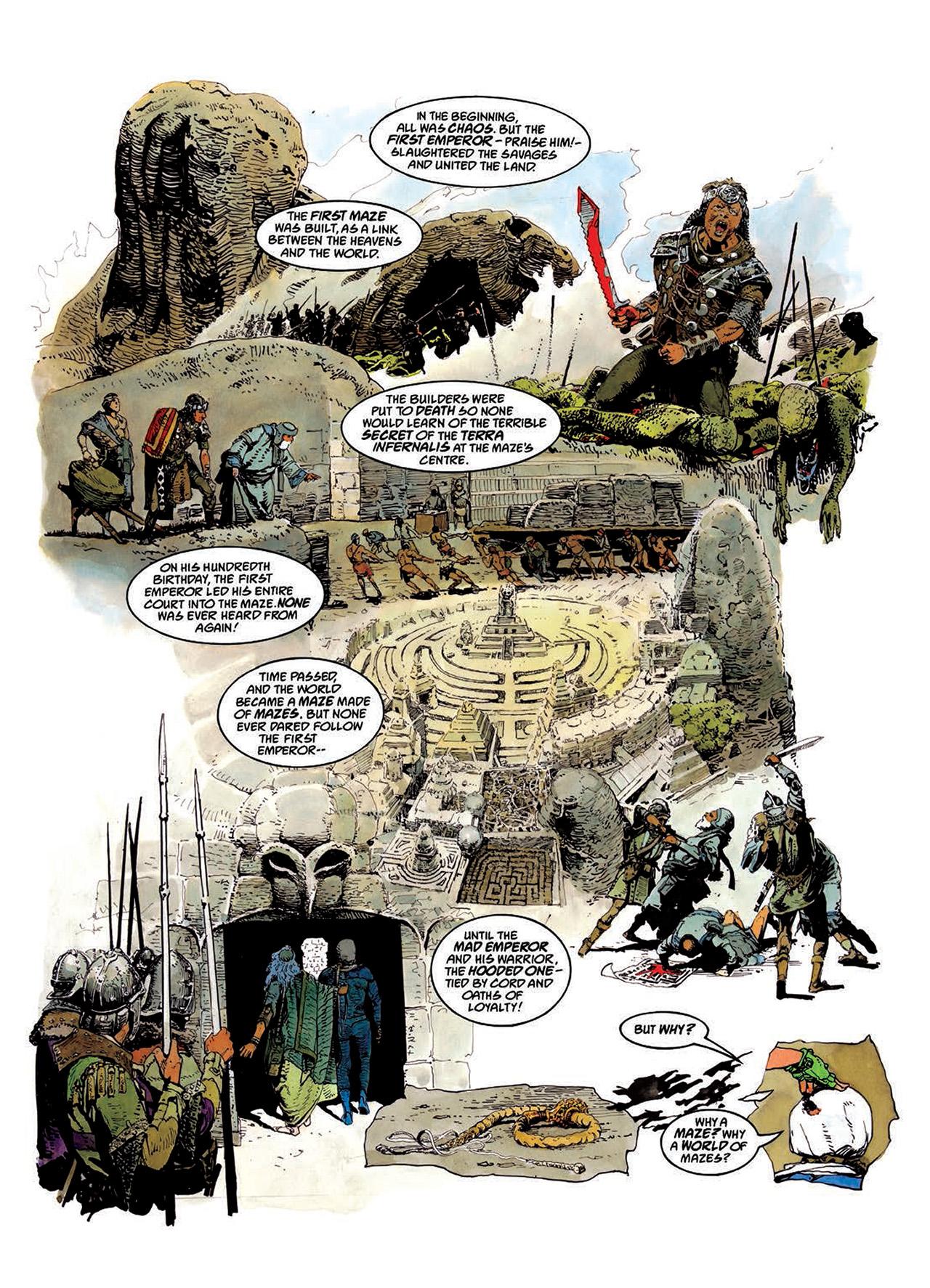 Read online Mazeworld comic -  Issue # TPB - 20