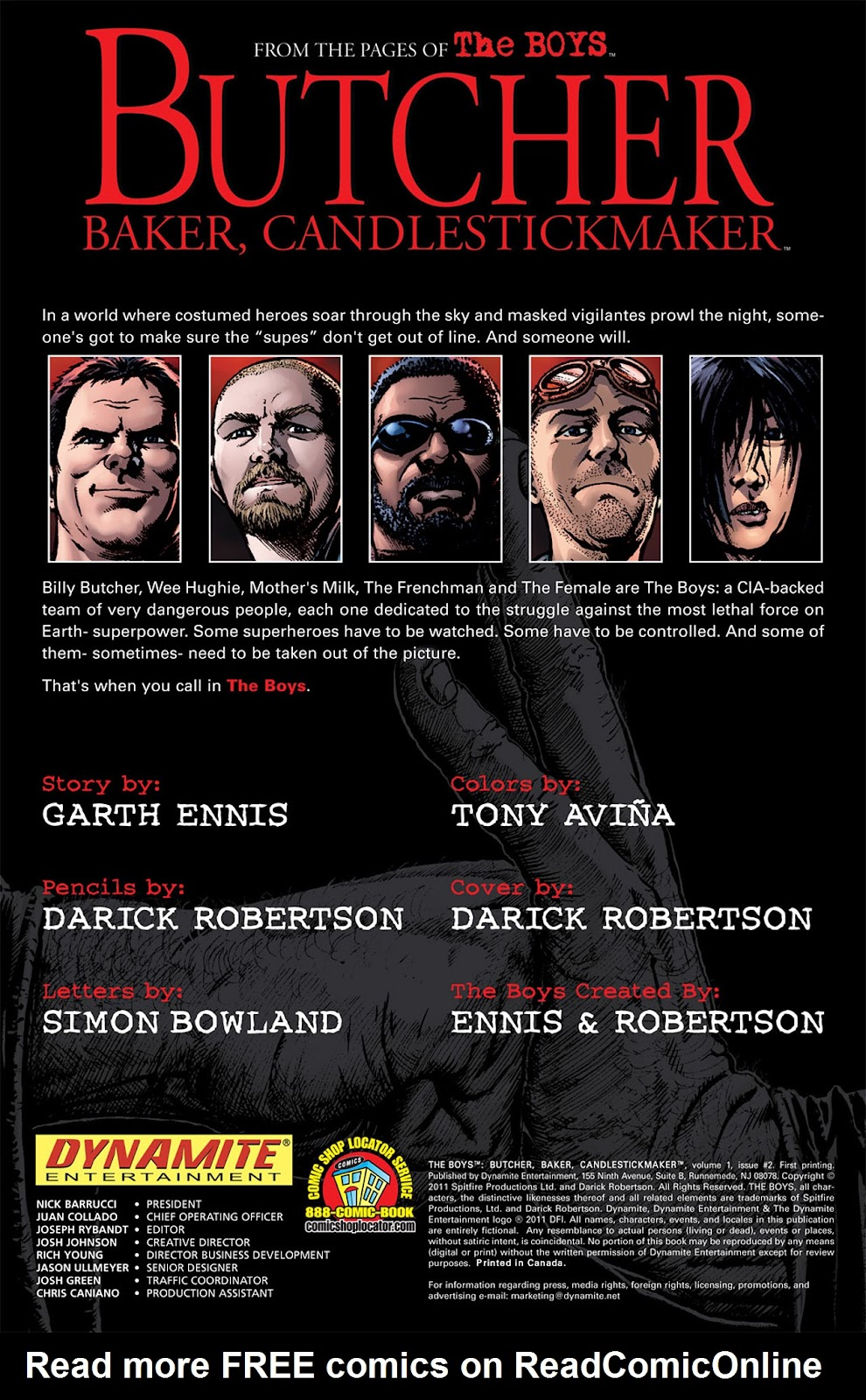 Read online The Boys: Butcher, Baker, Candlestickmaker comic -  Issue #2 - 2