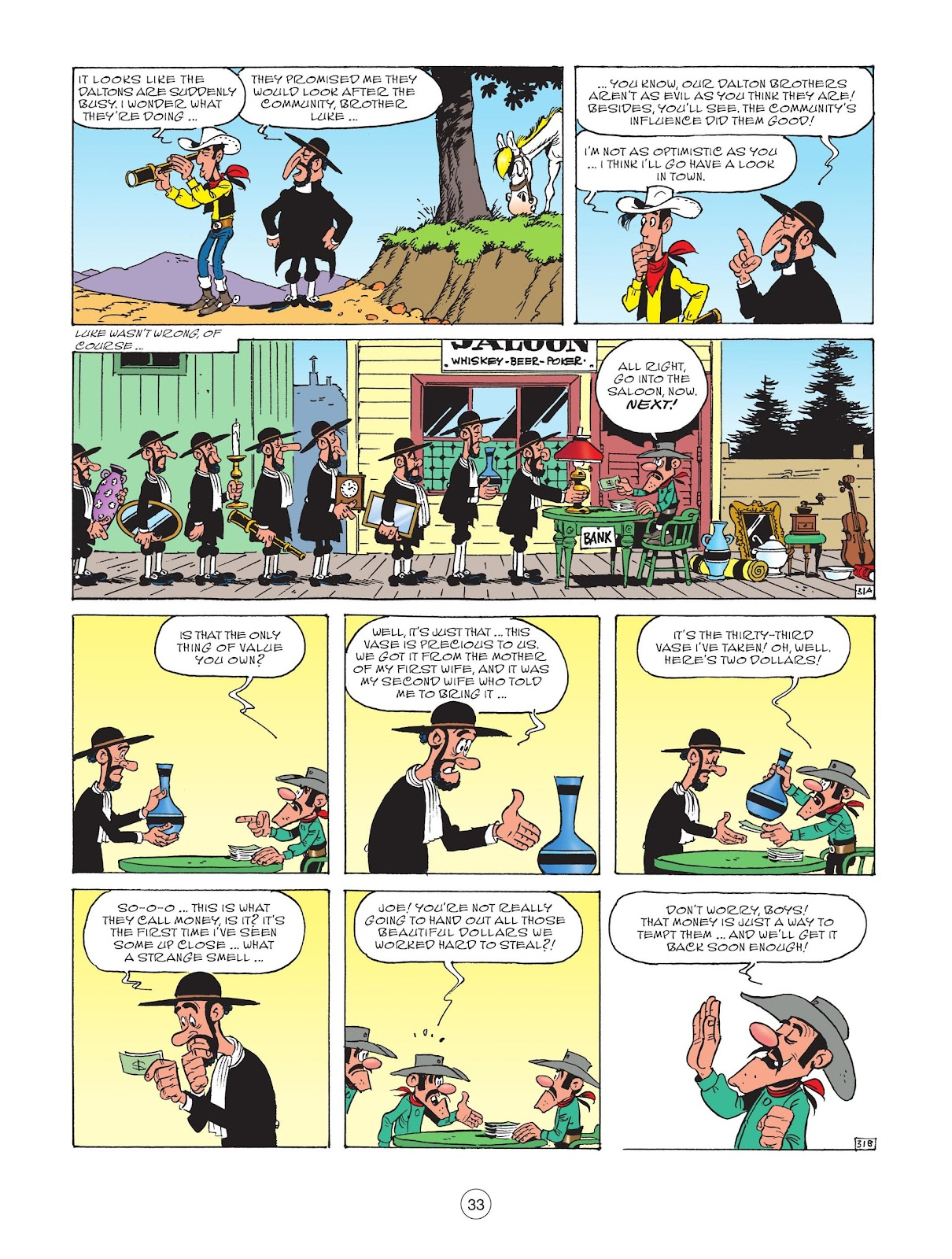 A Lucky Luke Adventure issue 73 - Page 35