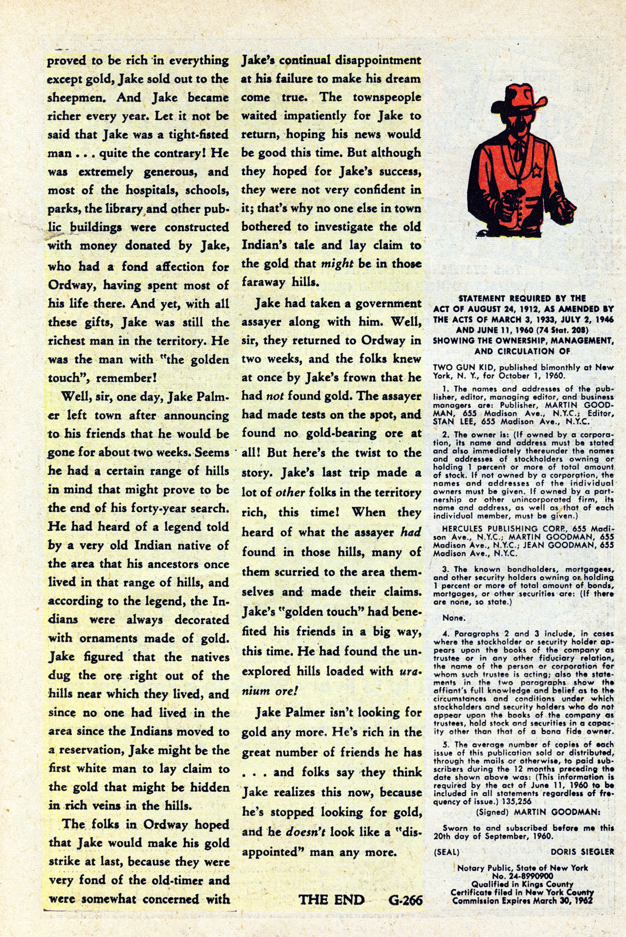 Read online Two-Gun Kid comic -  Issue #59 - 26