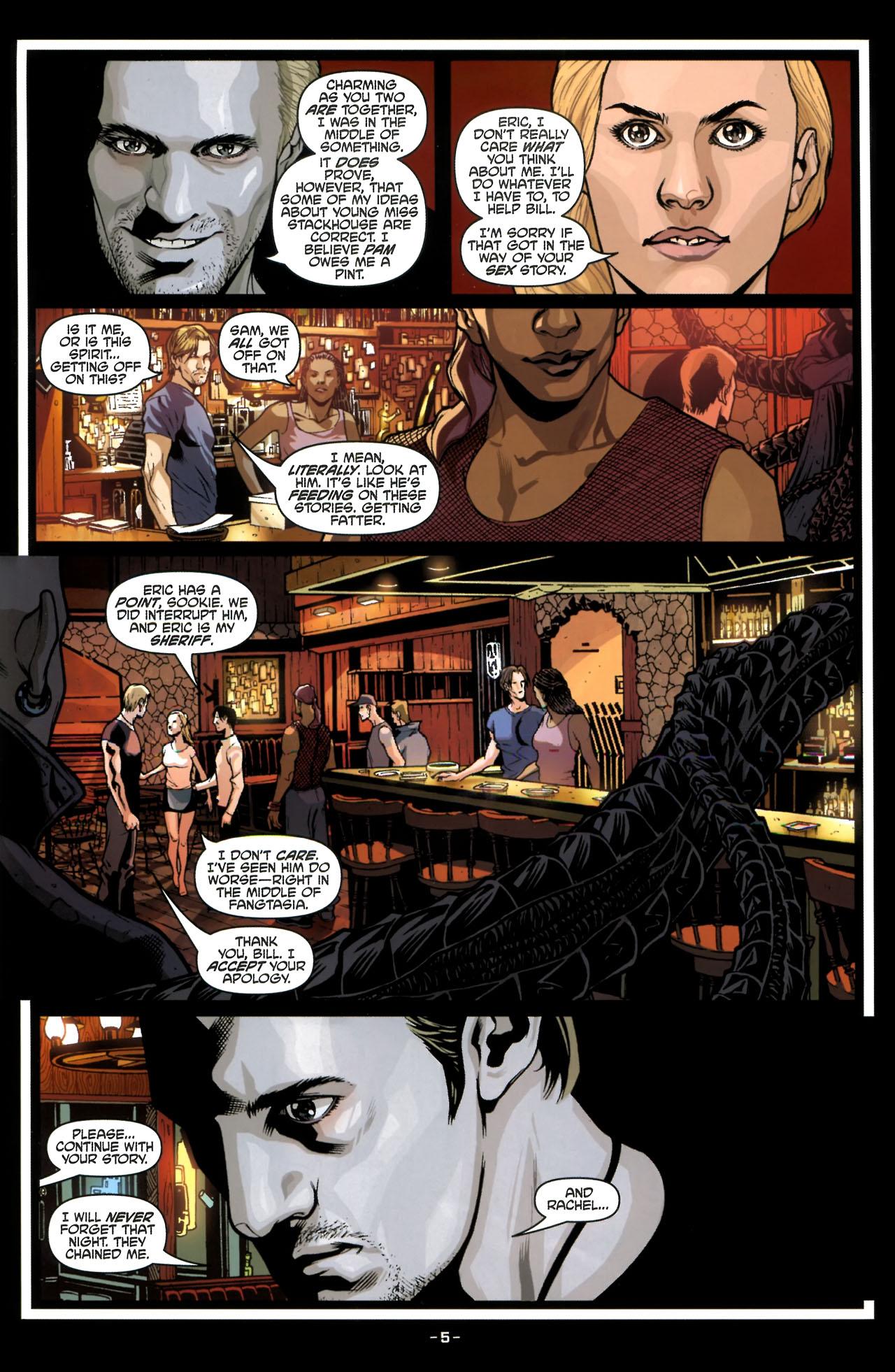Read online True Blood (2010) comic -  Issue #3 - 7