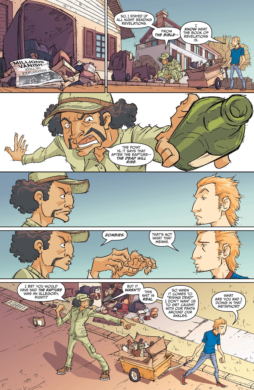 Read online The End Times of Bram and Ben comic -  Issue #1 - 27