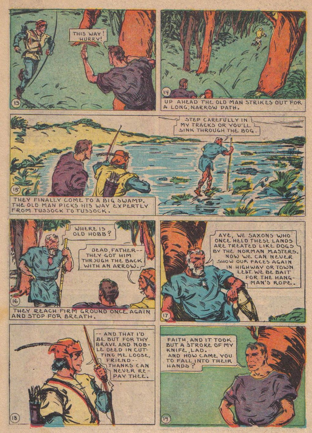 Read online Adventure Comics (1938) comic -  Issue #24 - 48