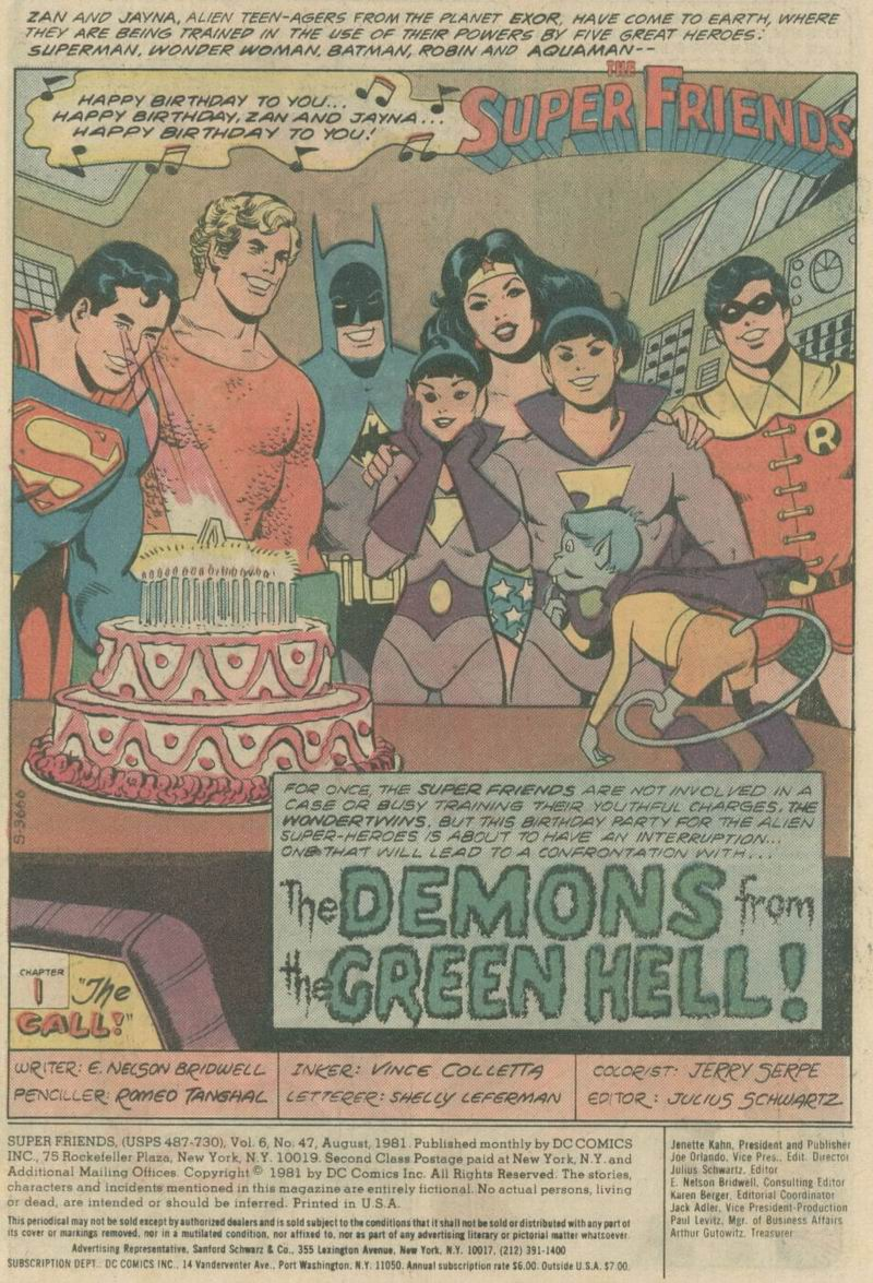 The Super Friends Issue #47 #47 - English 2