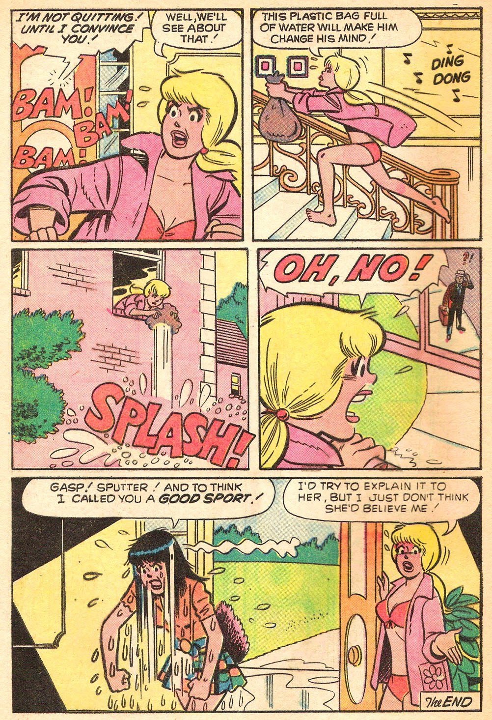 Read online Archie's Girls Betty and Veronica comic -  Issue #213 - 8