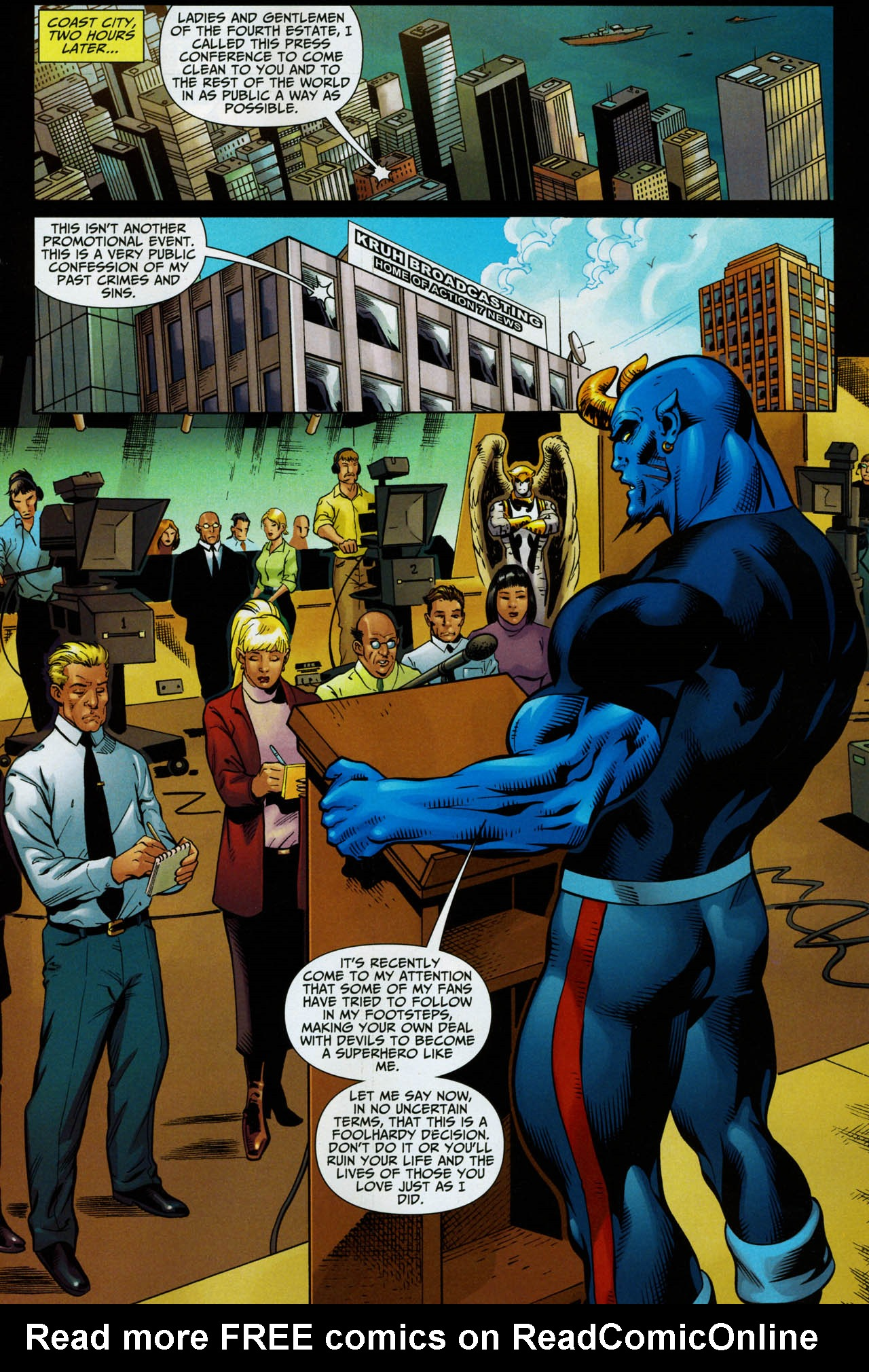 Read online Shadowpact comic -  Issue #14 - 12