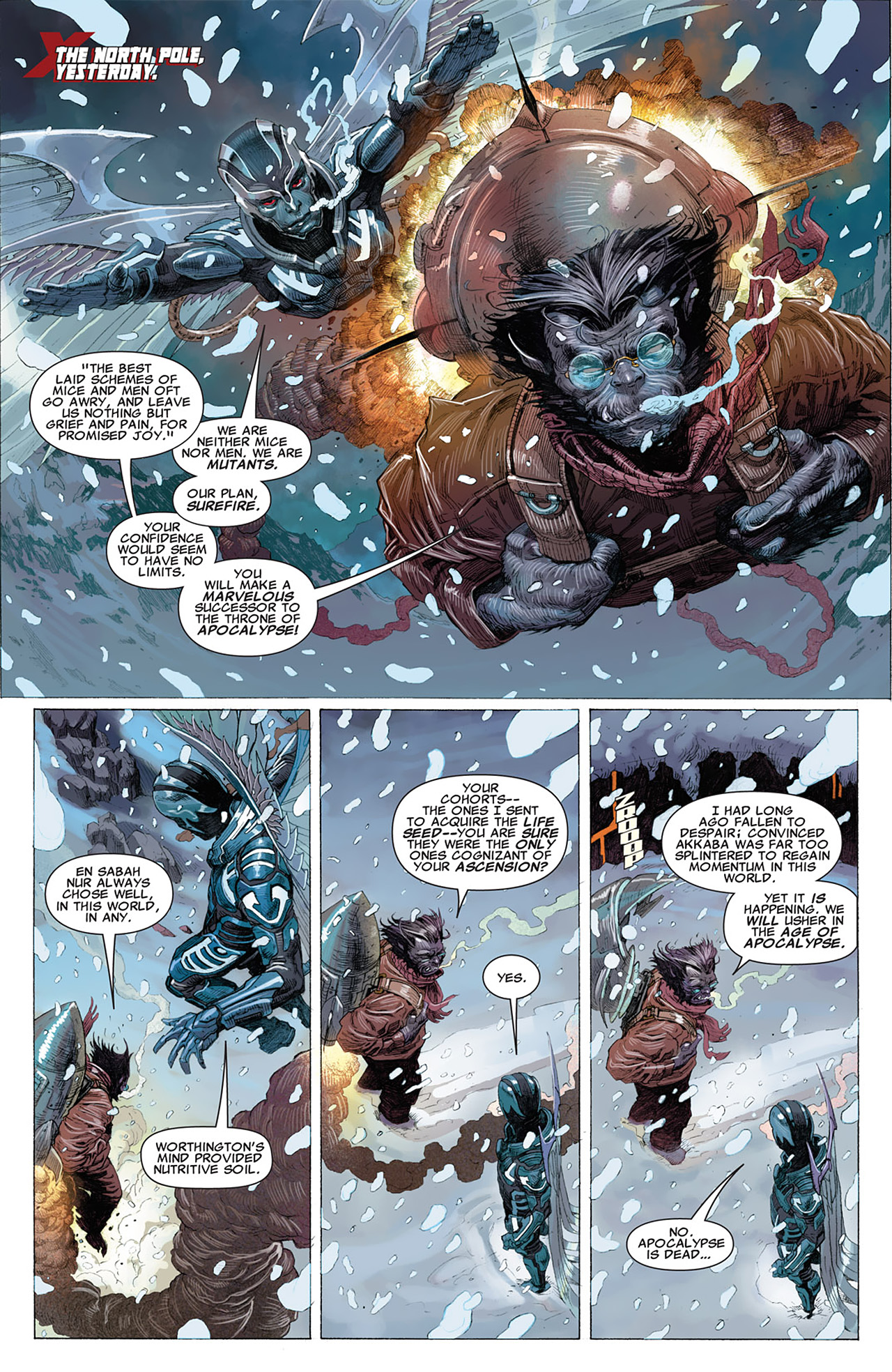 Read online Uncanny X-Force (2010) comic -  Issue #14 - 3